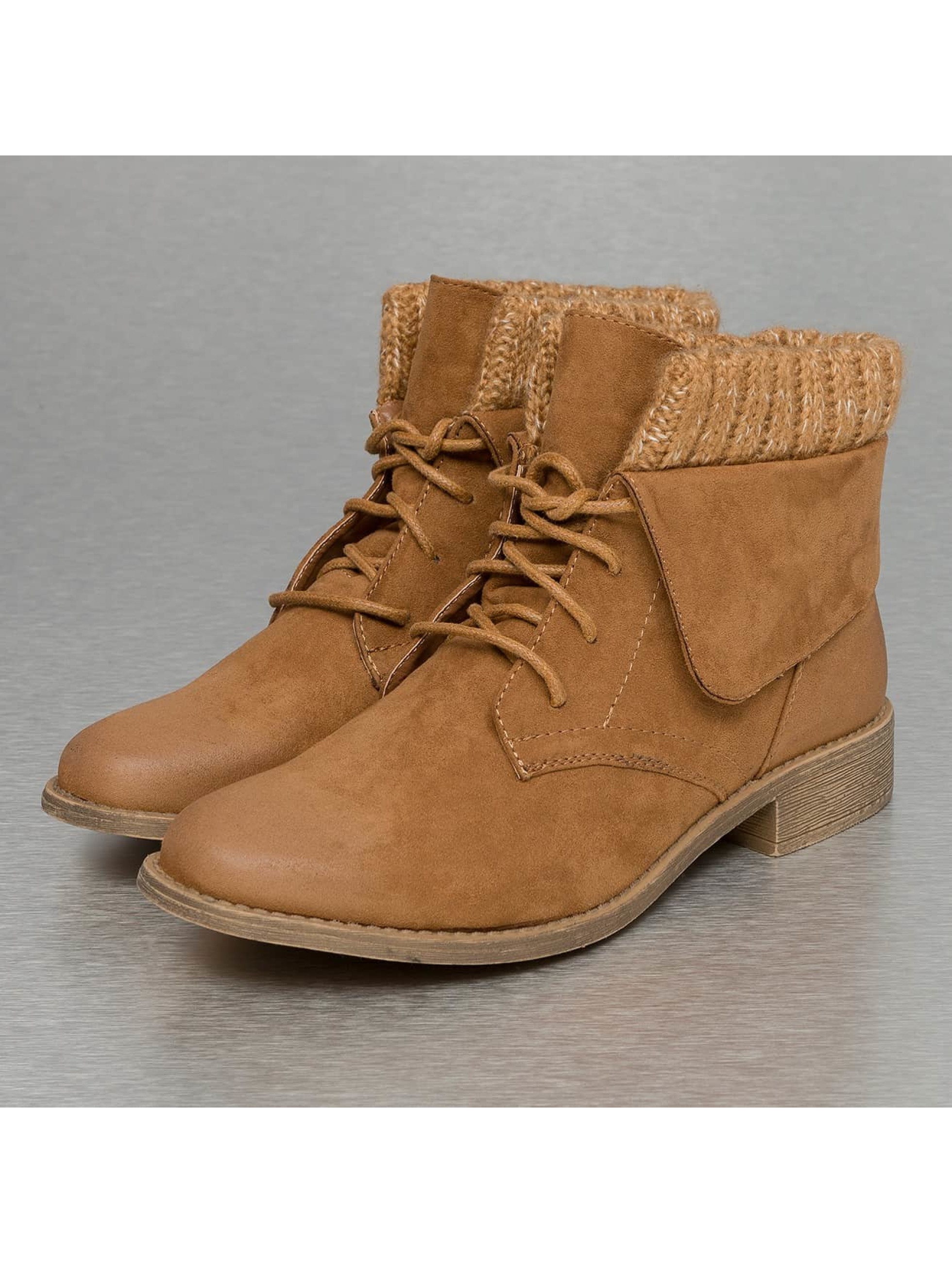 Jumex Bottines Wool brun