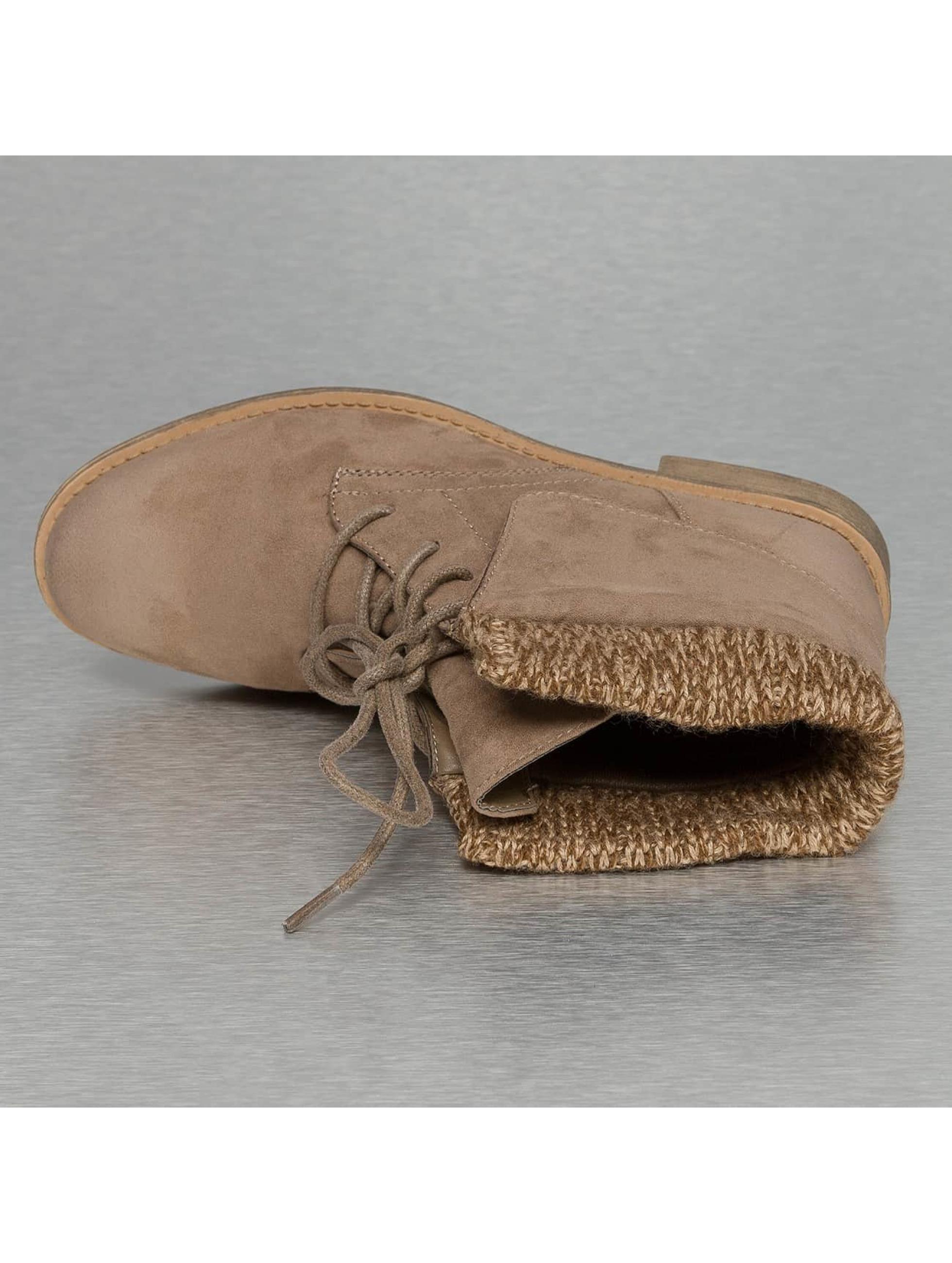 Jumex Bottines Wool kaki