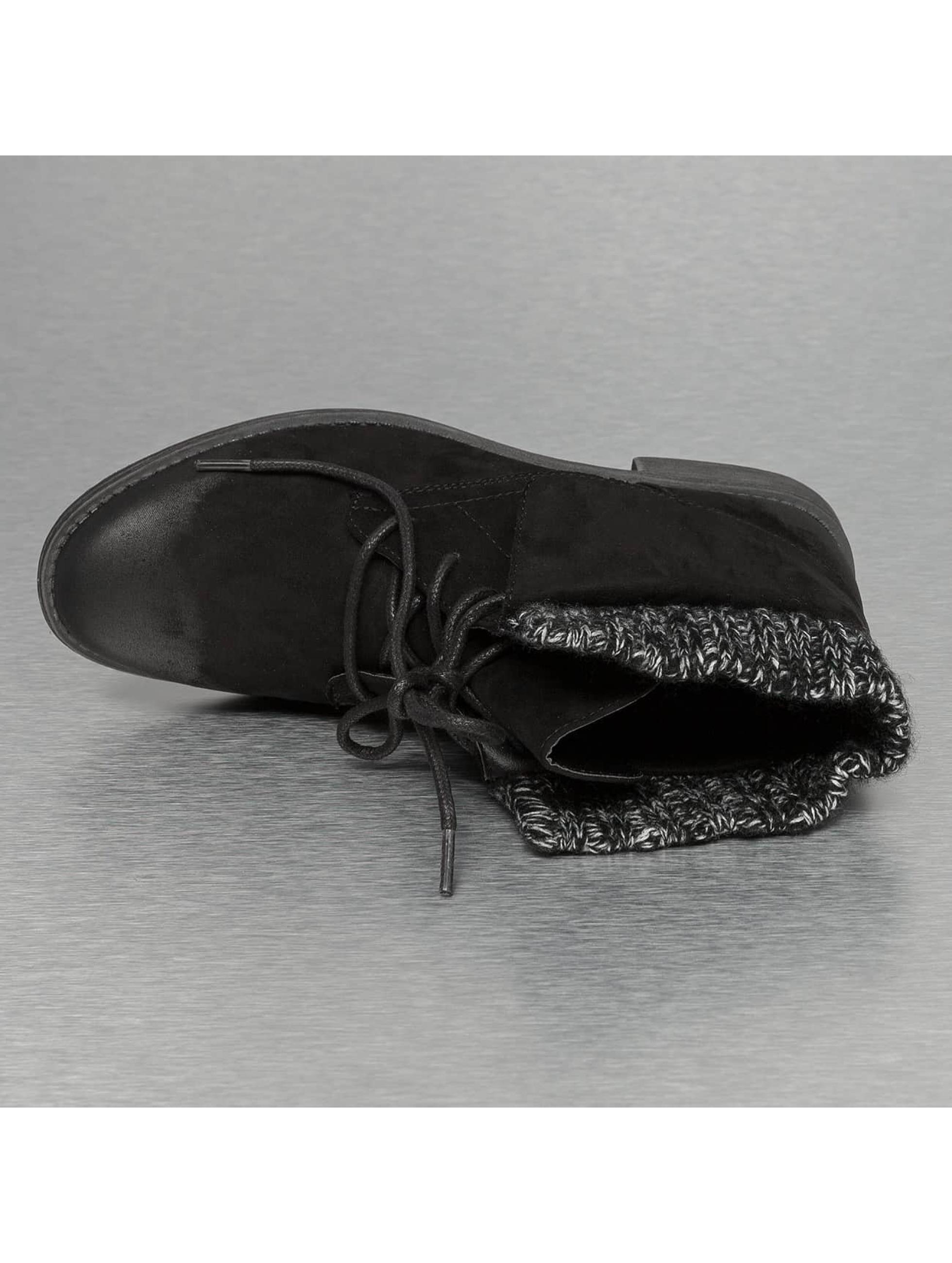 Jumex Bottines Wool noir