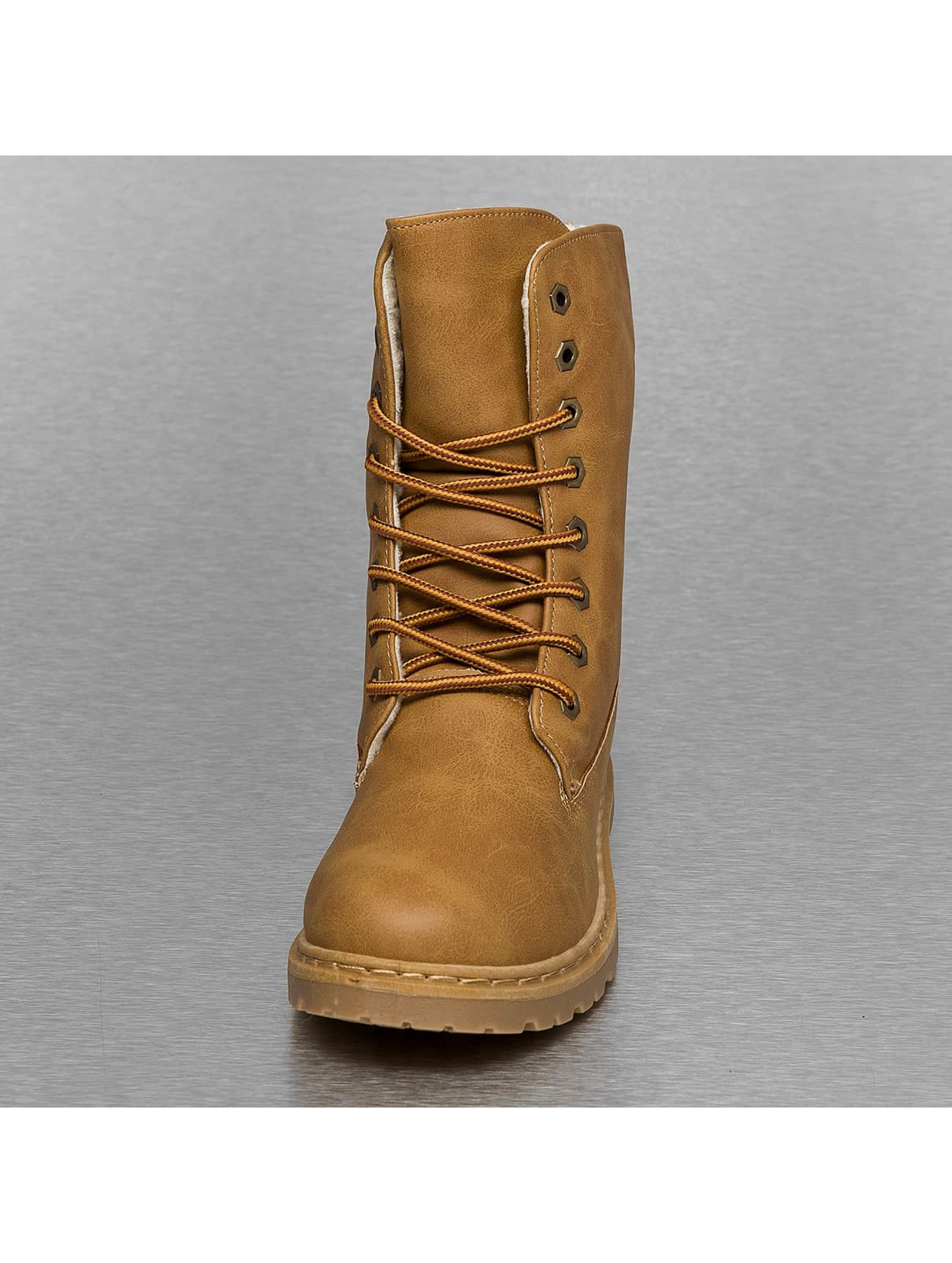 Jumex Chaussures montantes Fur Basic brun