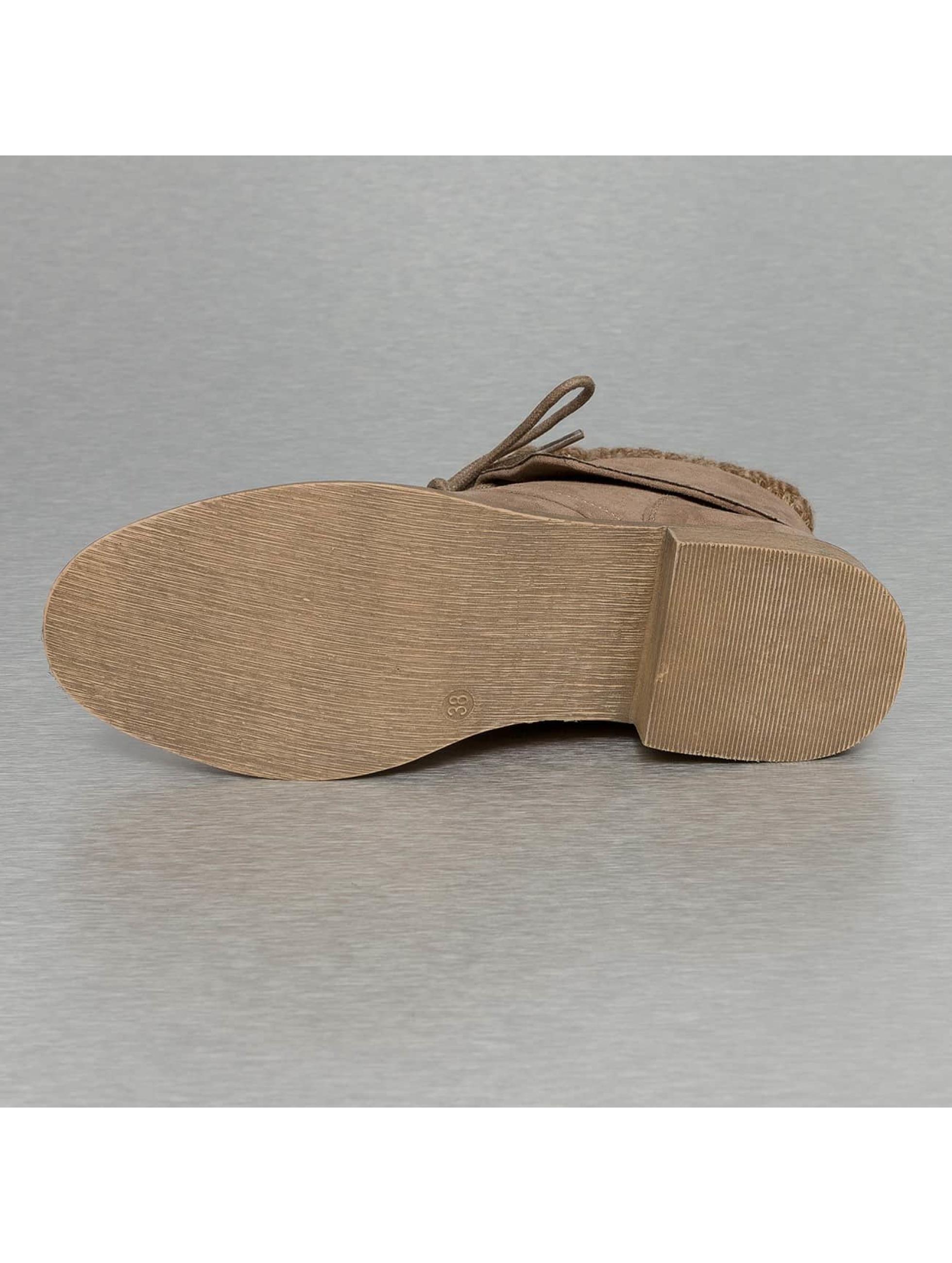 Jumex Enkellaarsje Wool khaki