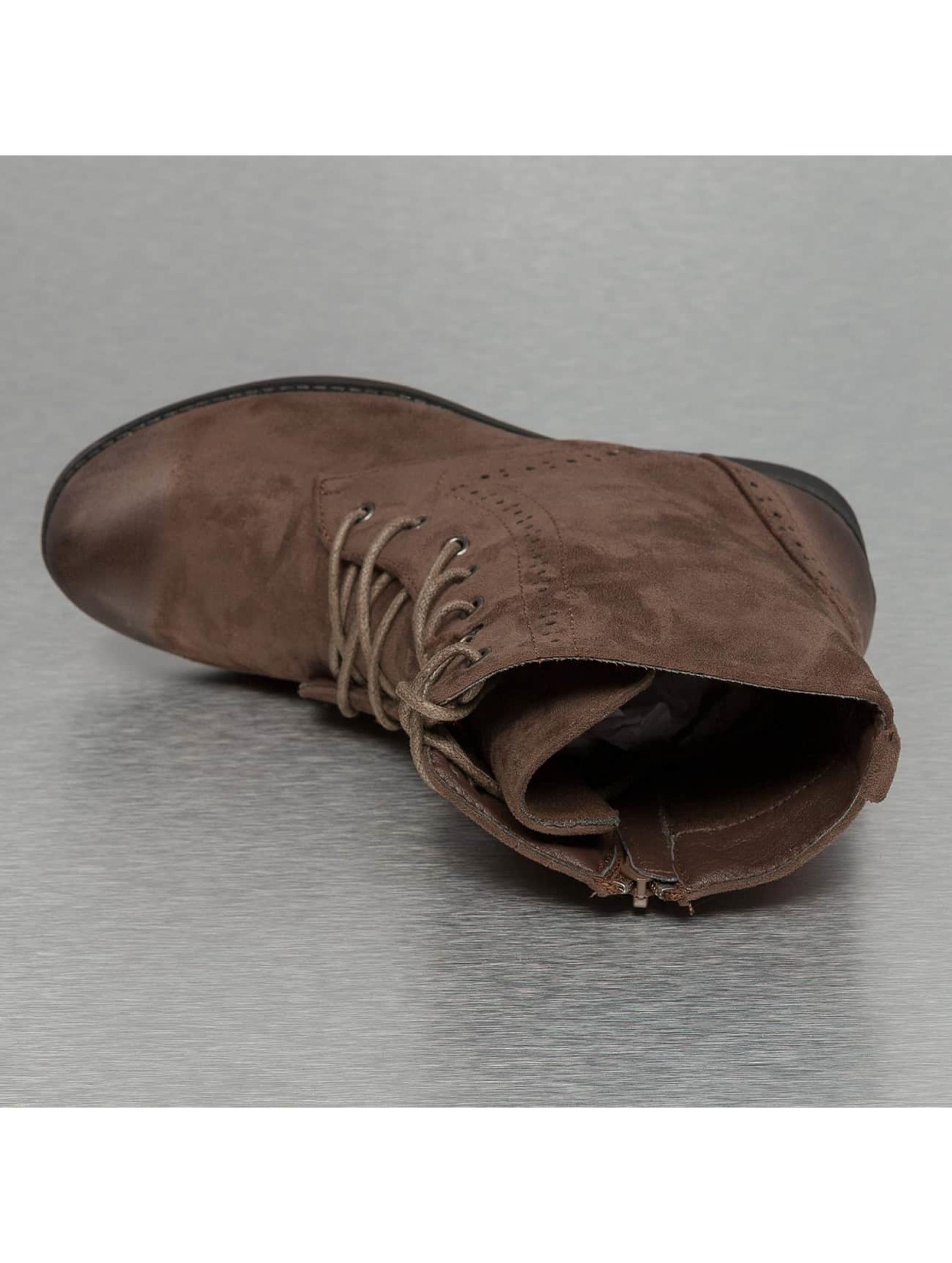 Jumex Enkellaarsje Basic Lite khaki