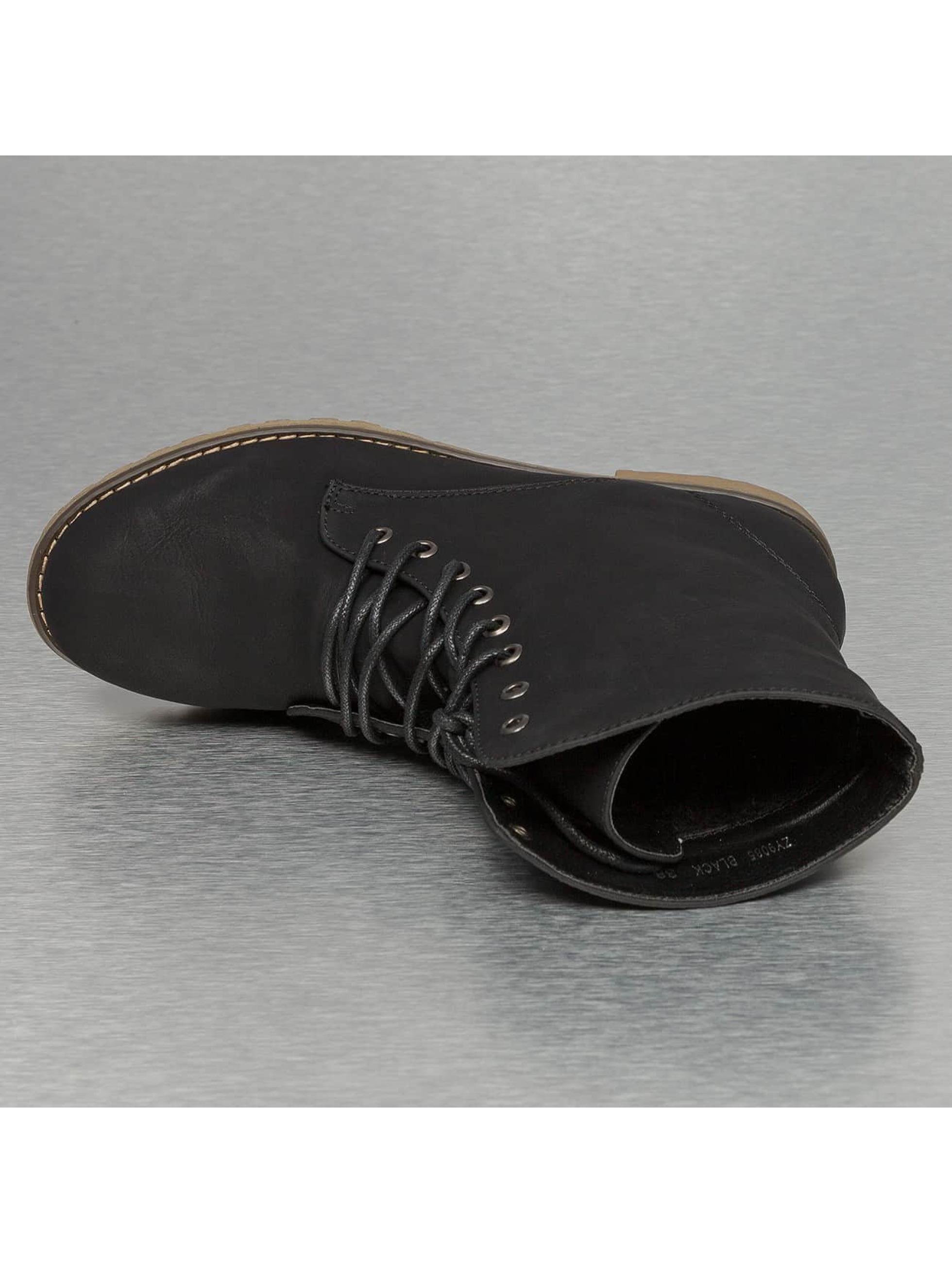 Jumex Enkellaarsje Basic Lite zwart