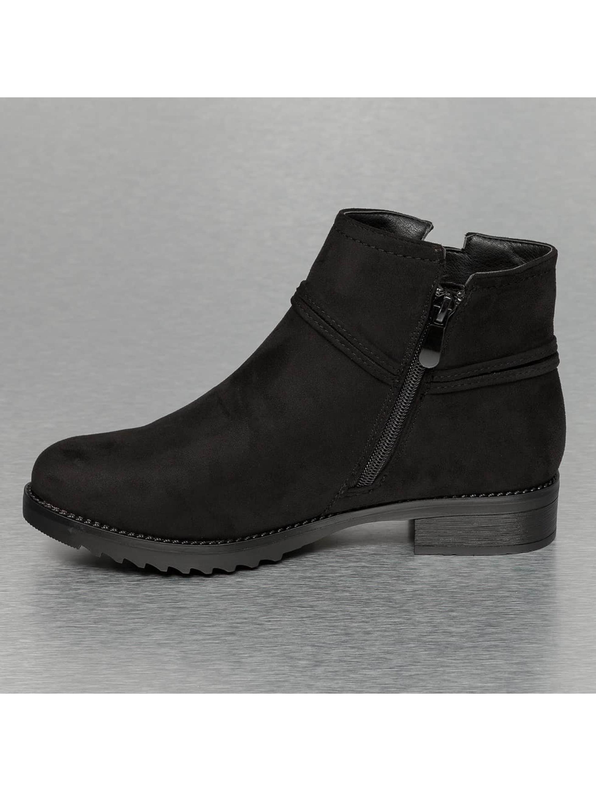 Jumex Kozaki/botki Basic czarny