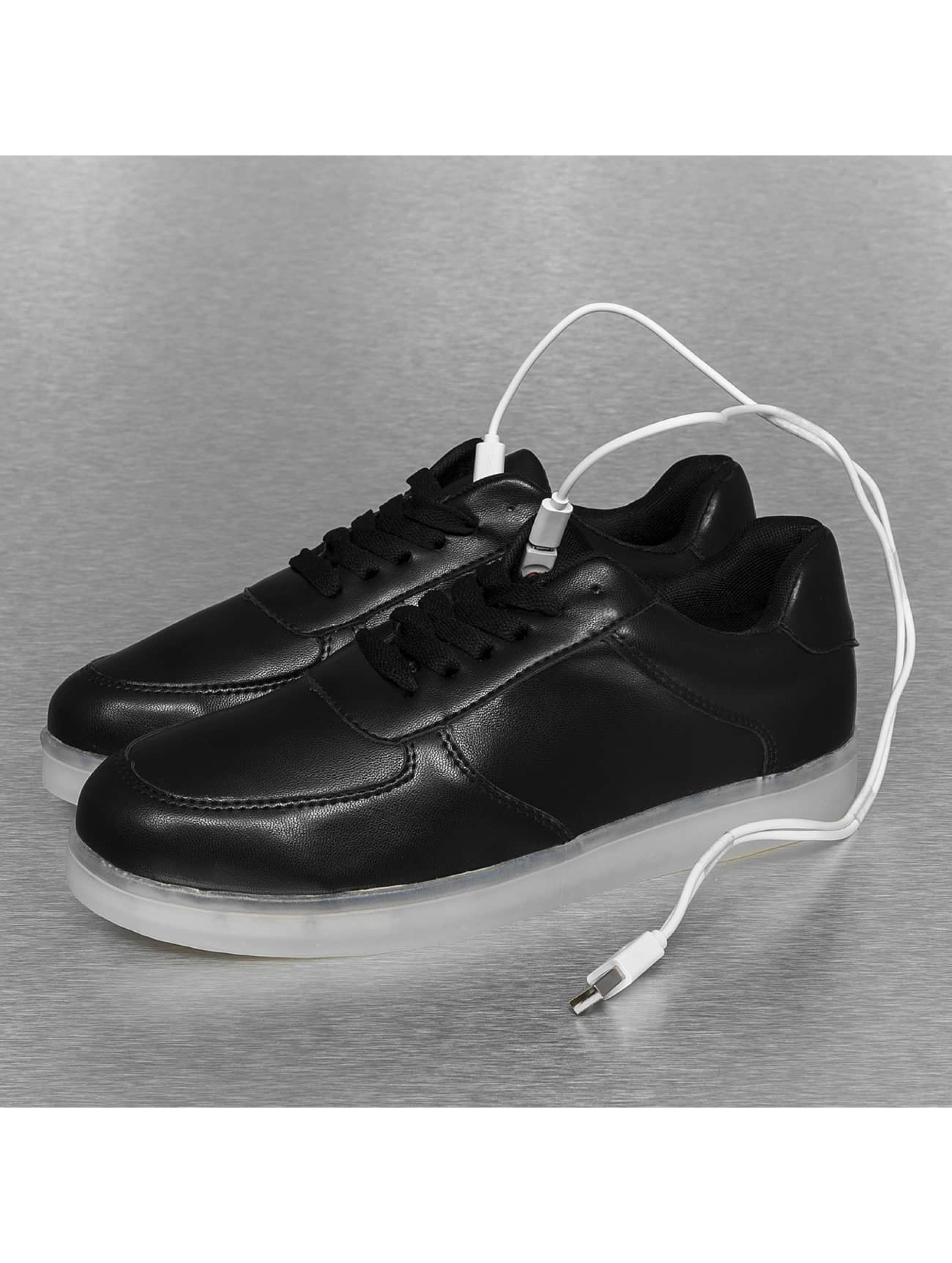 Jumex Sneaker Basic LED schwarz