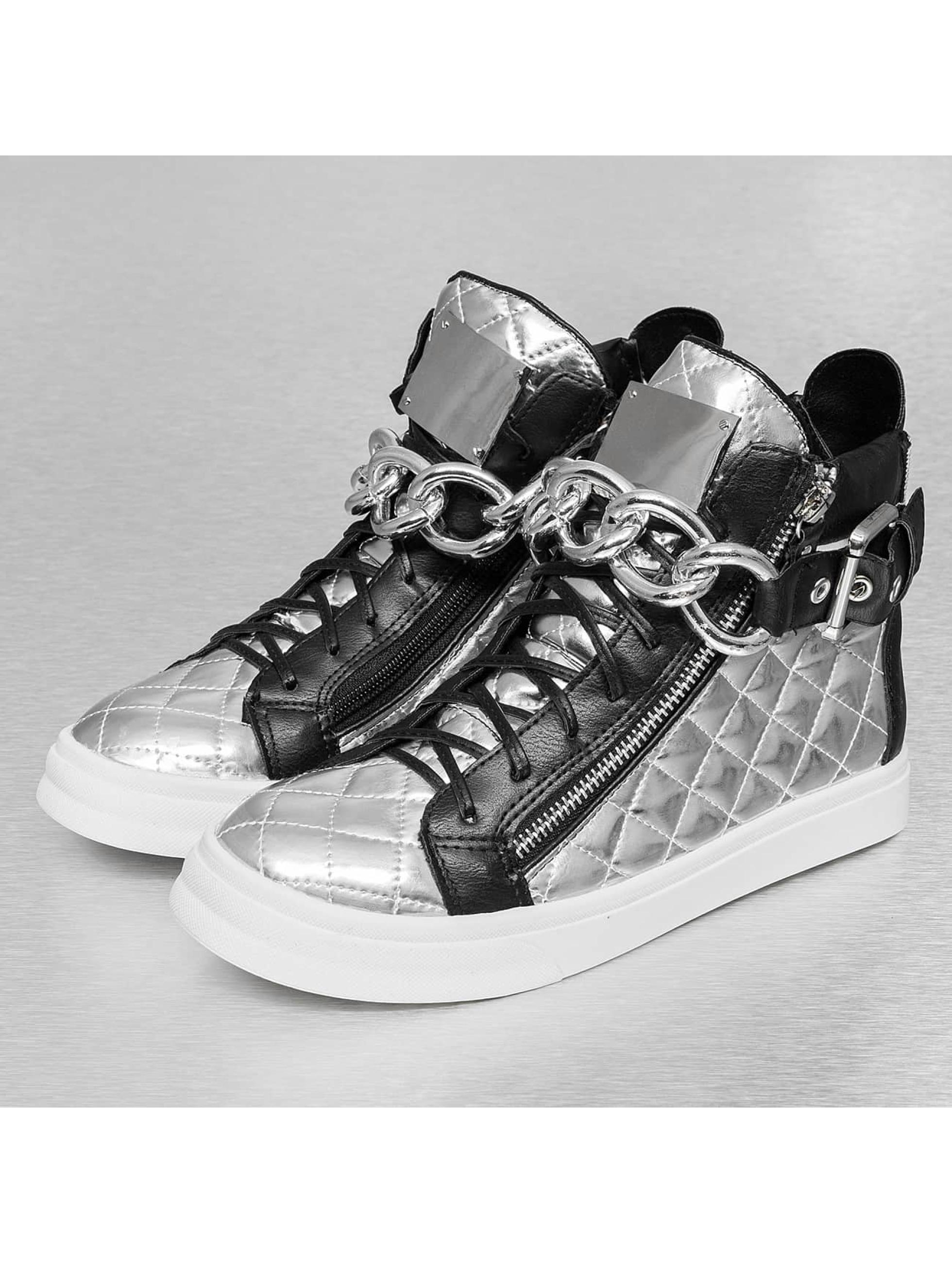 Sneaker Metalic in silberfarben