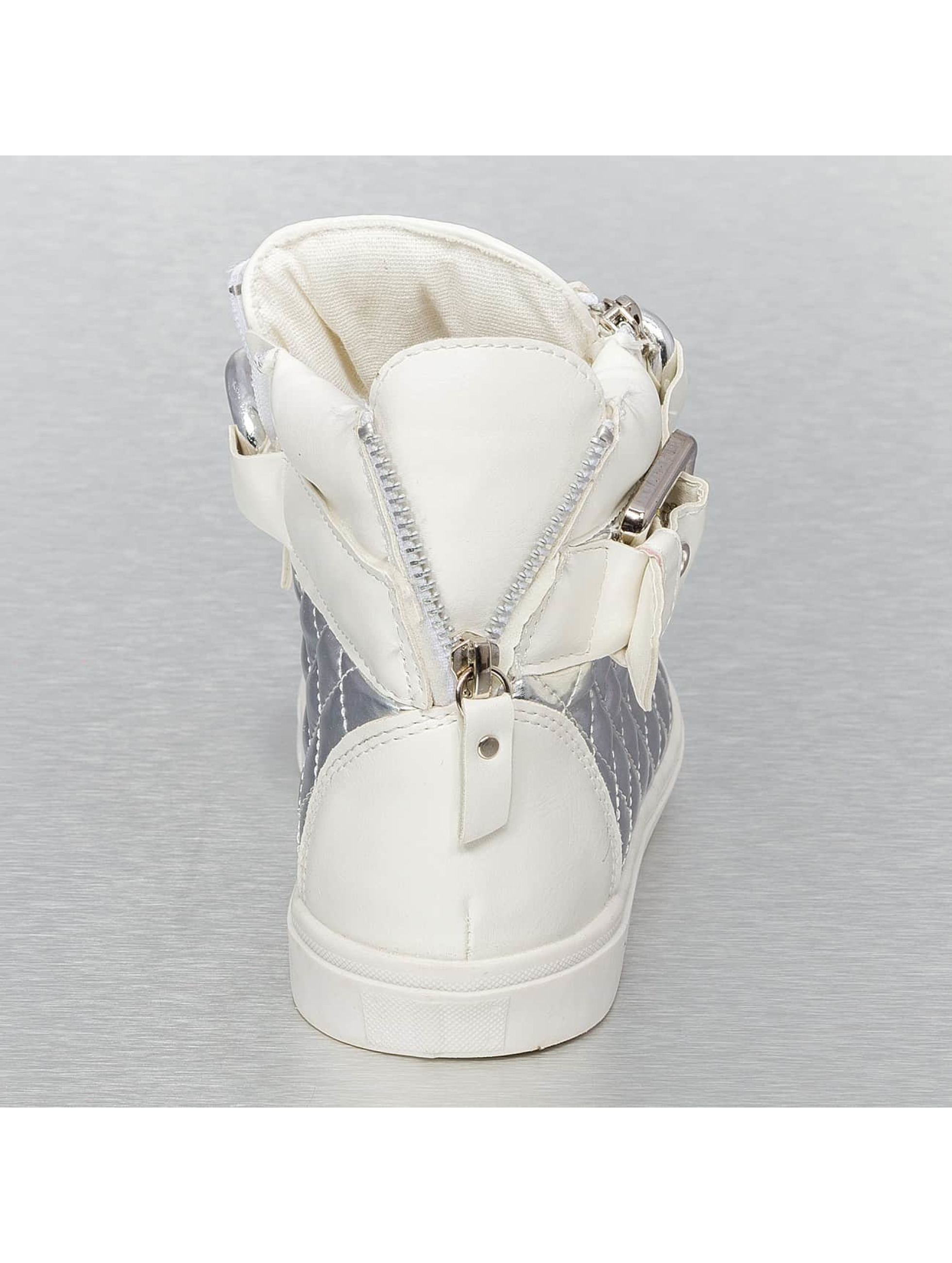 Jumex Sneaker High Top Metalic weiß