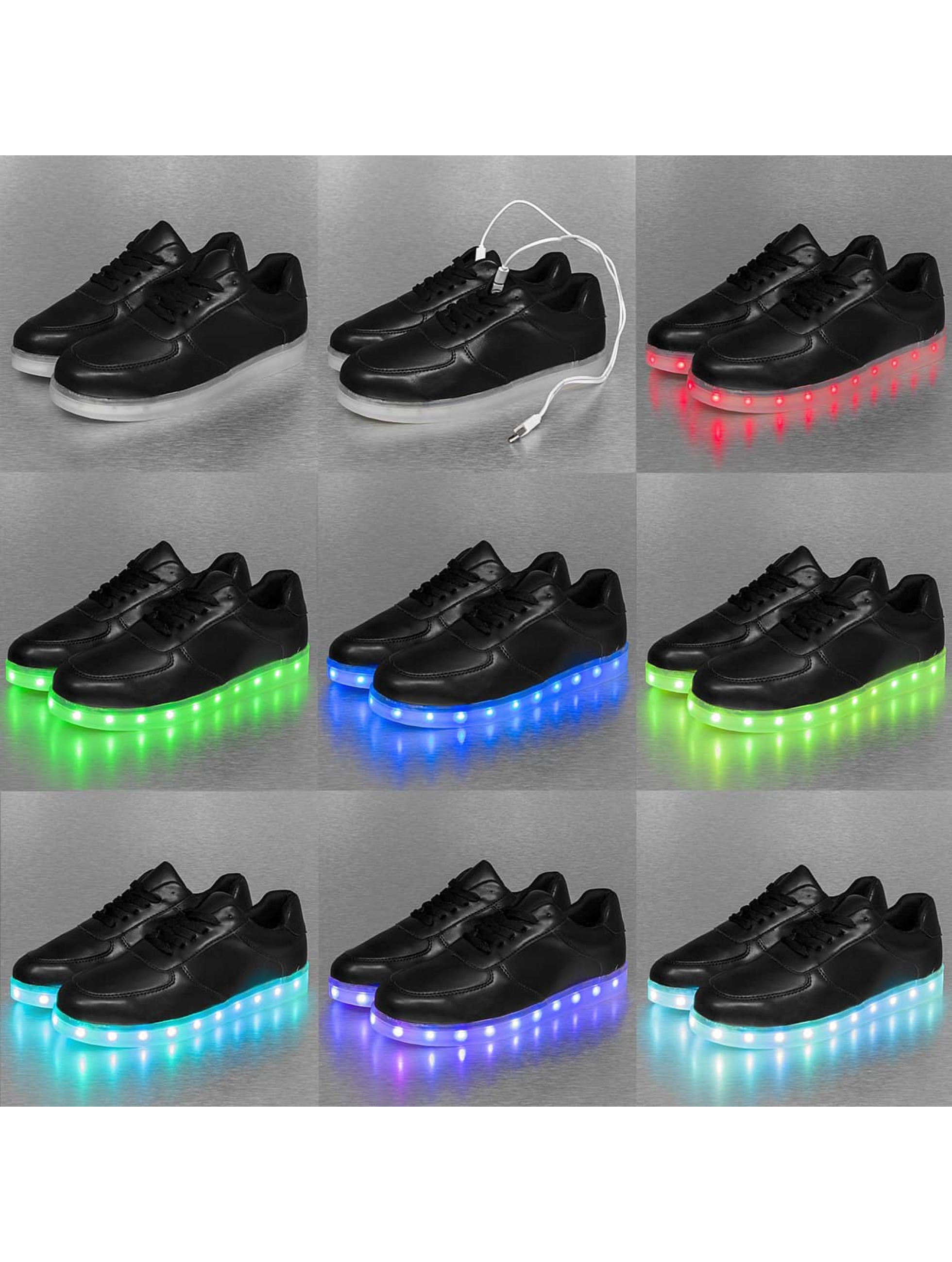 Jumex sneaker Basic LED zwart