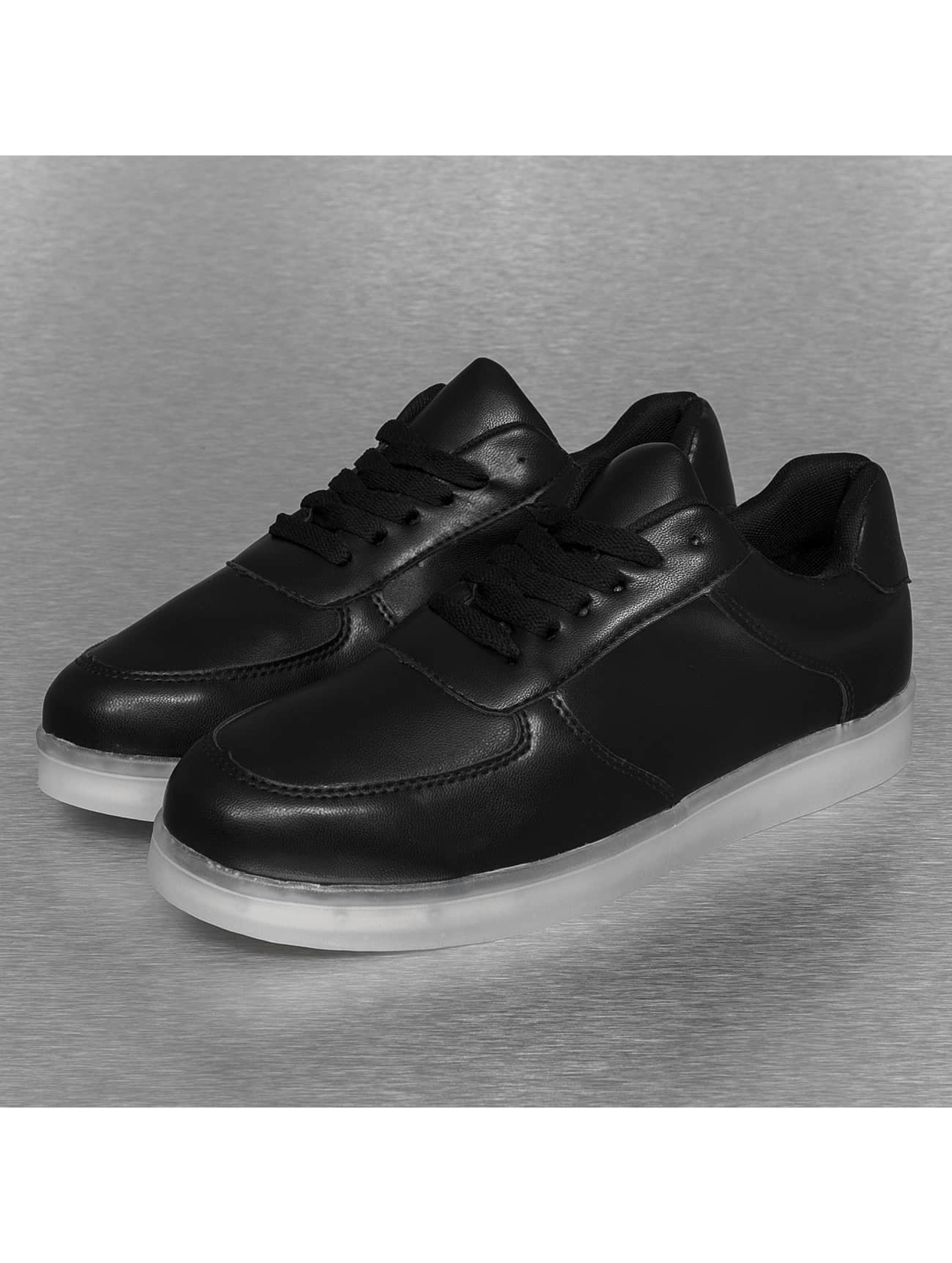 Jumex sneaker Basic LED zwart