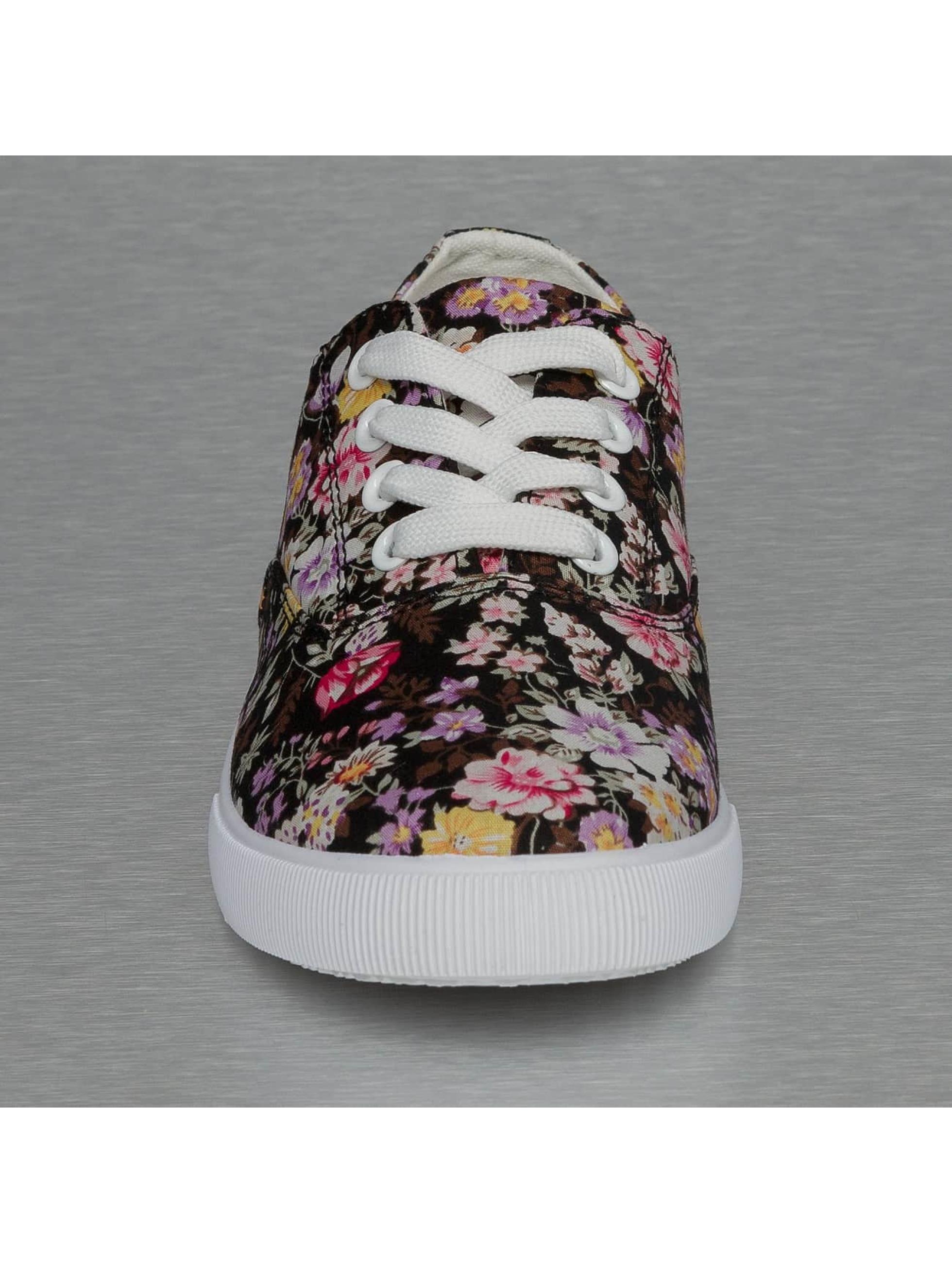 Jumex sneaker Summer Flower Low zwart