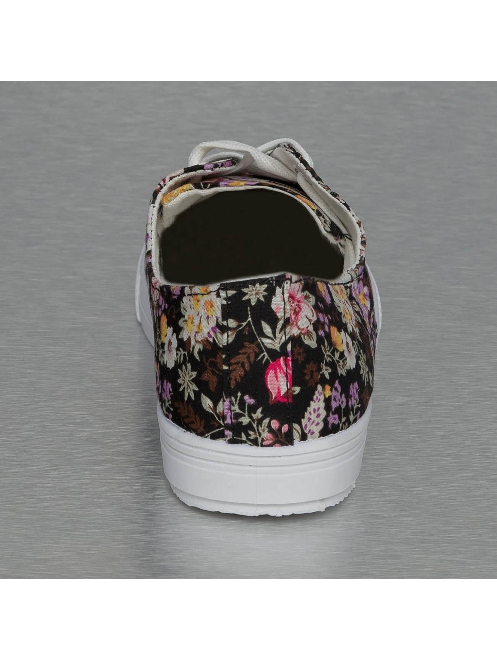 Jumex Sneakers Summer Flower Low czarny