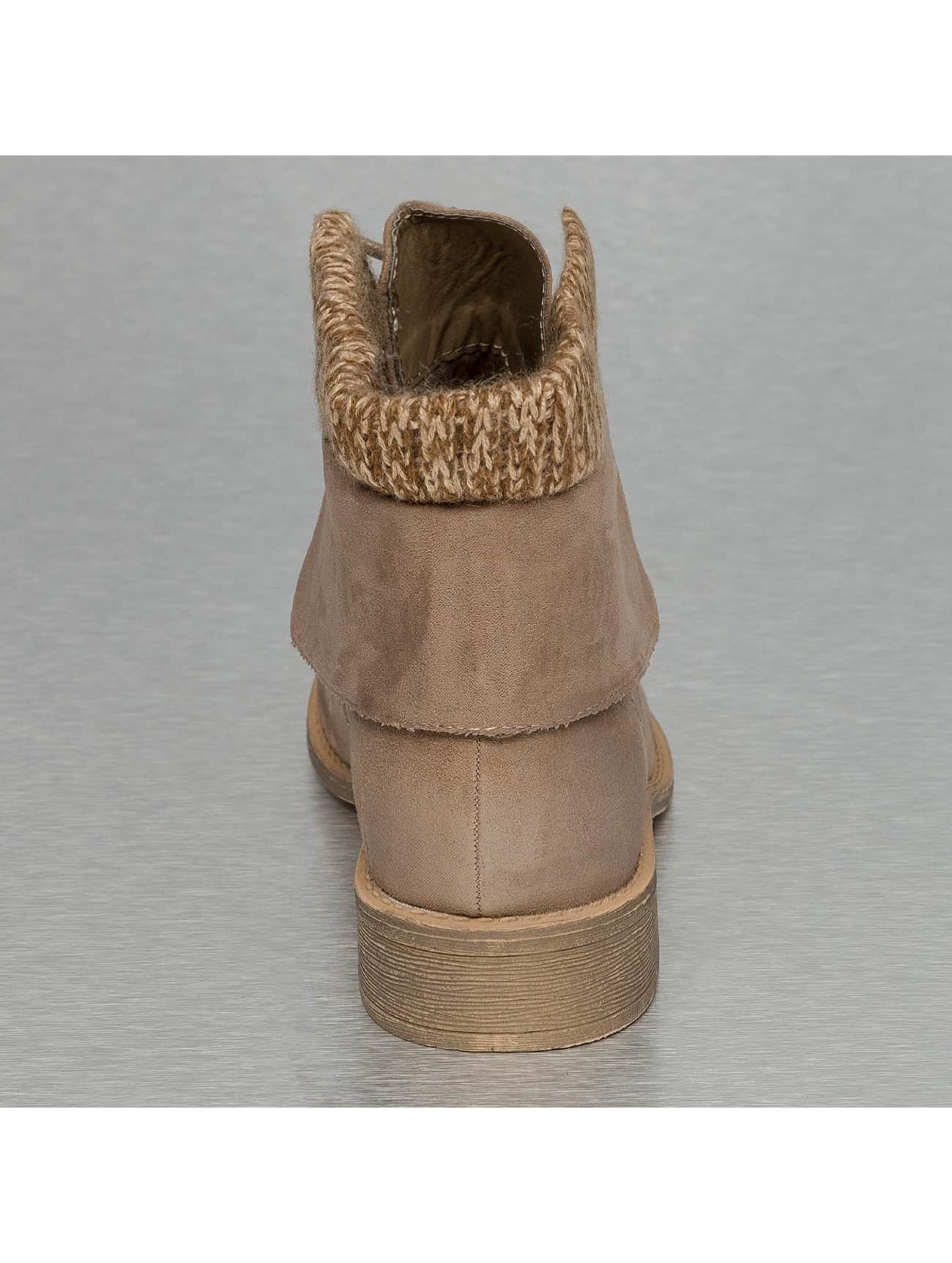 Jumex Stiefelette Wool khaki