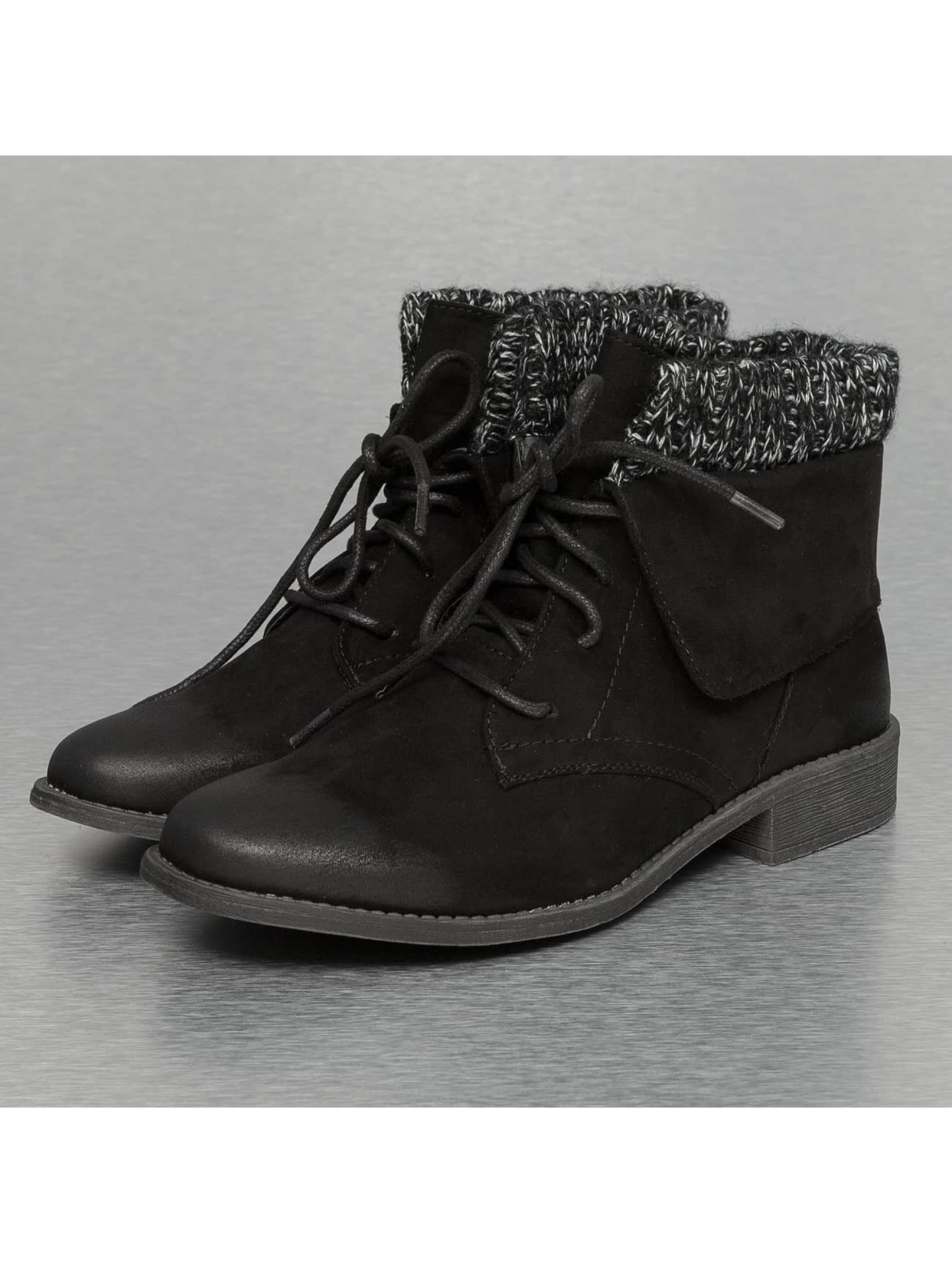 Jumex Stiefelette Wool schwarz