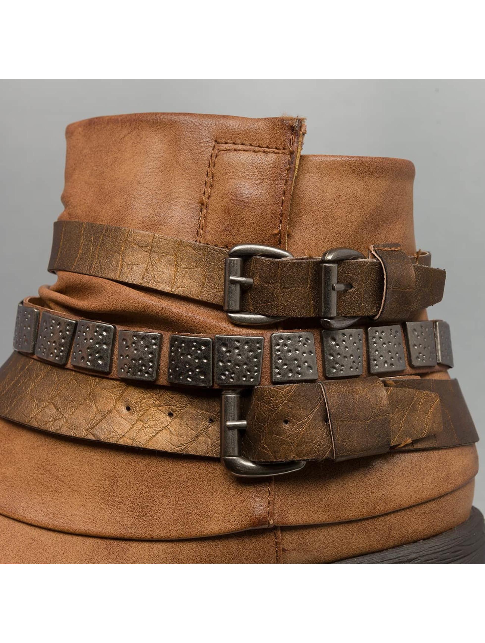 Jumex Stövletter Chain Low B brun
