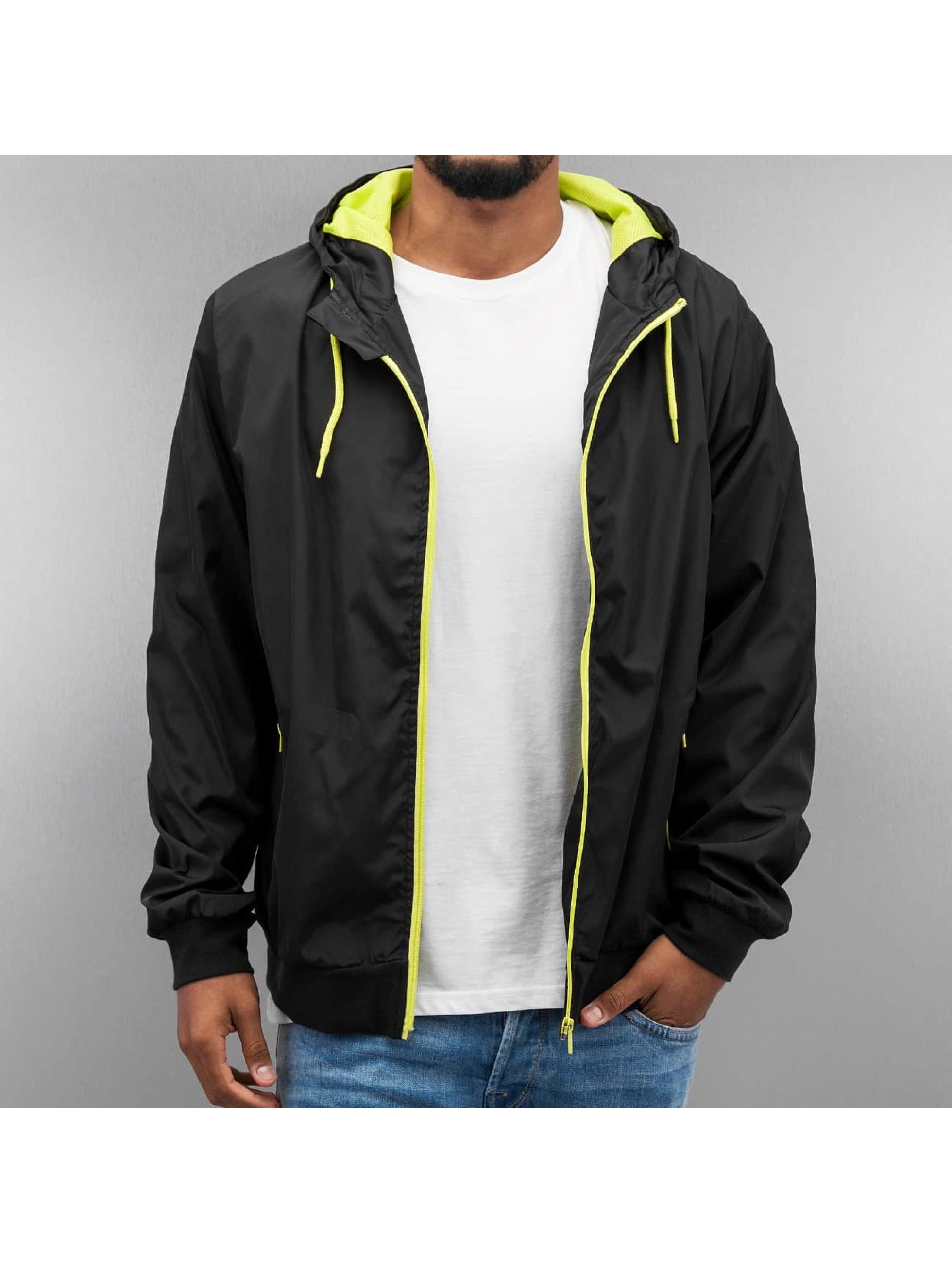 Just Rhyse Демисезонная куртка Basic черный