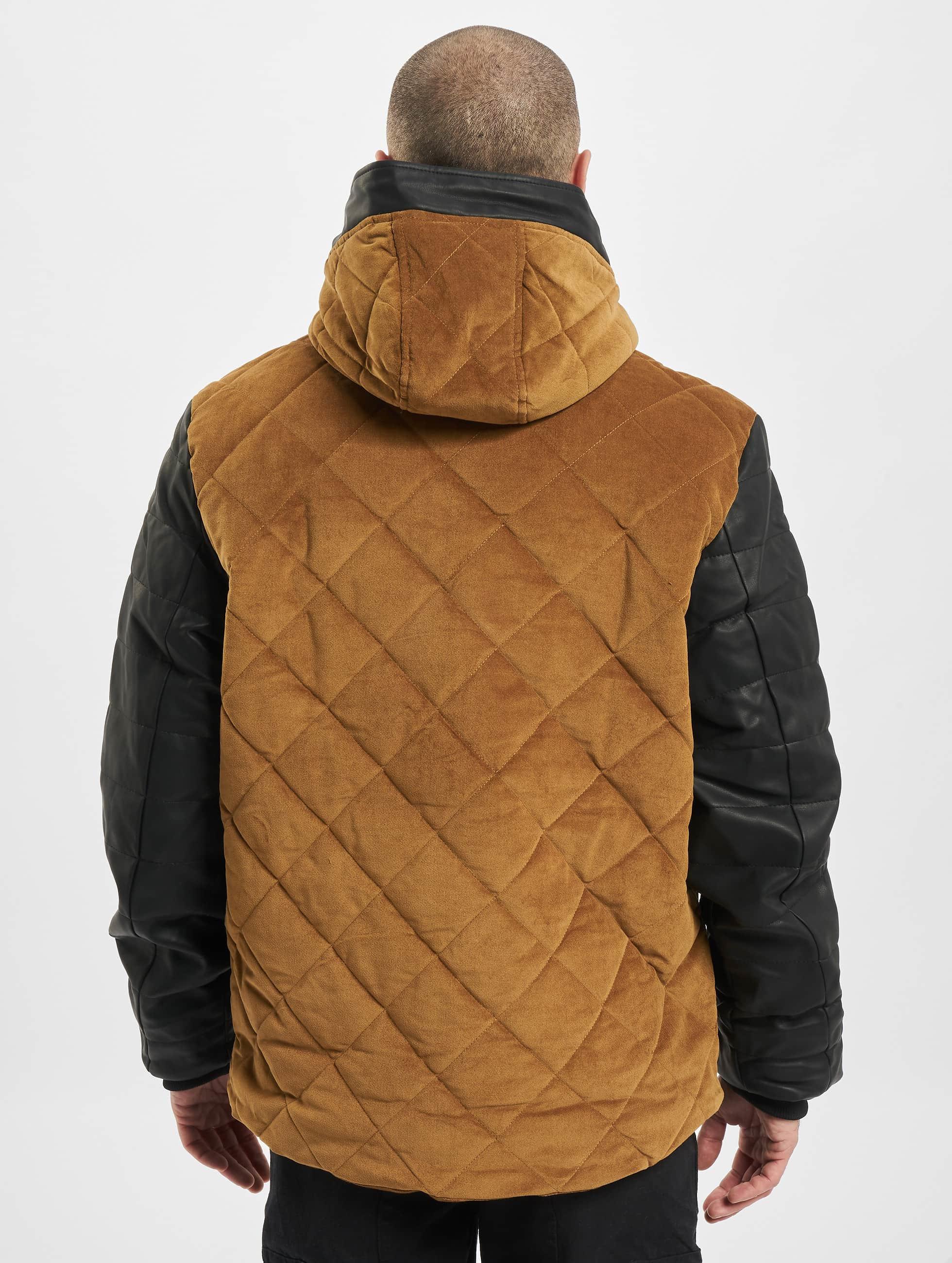 Just Rhyse Зимняя куртка Quilted бежевый