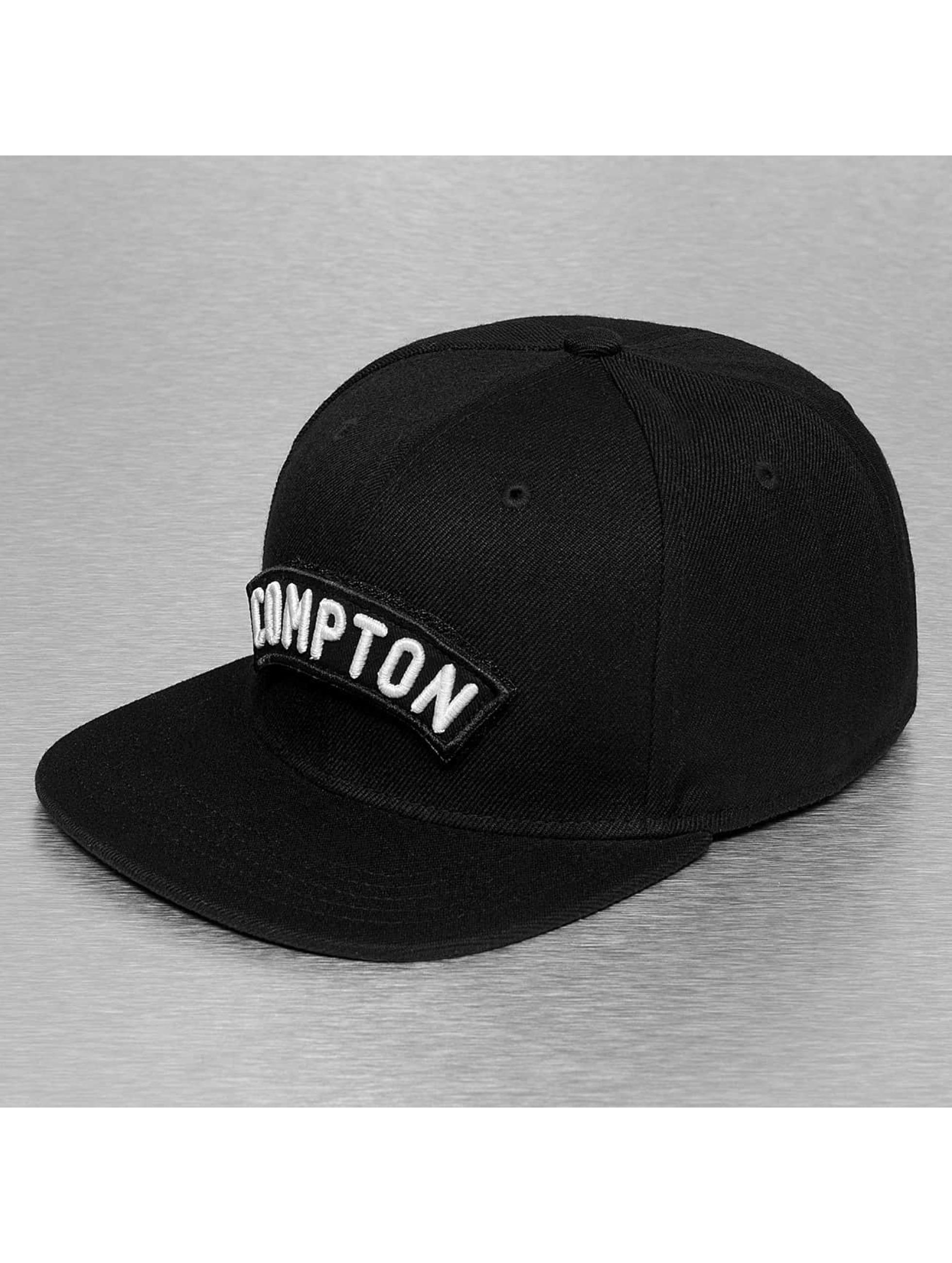 Just Rhyse Кепка с застёжкой Compton черный