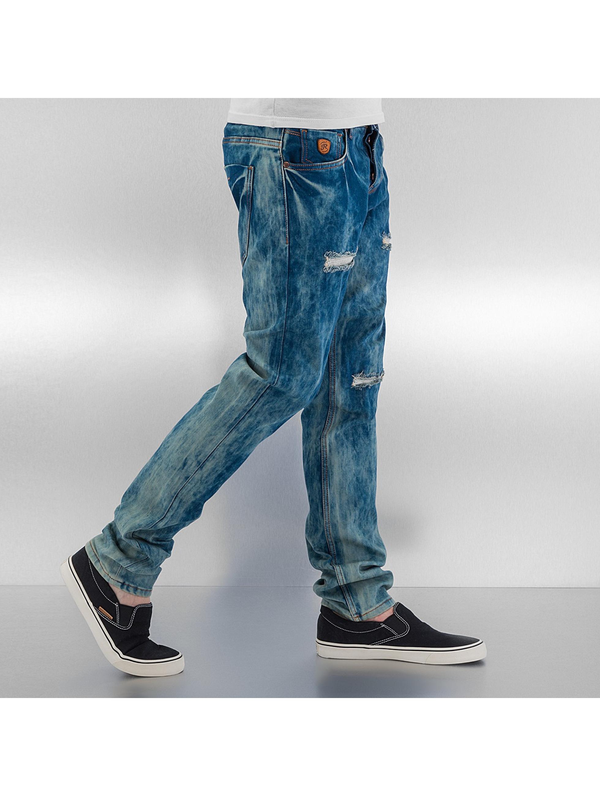 Just Rhyse Облегающие джинсы Skinny синий
