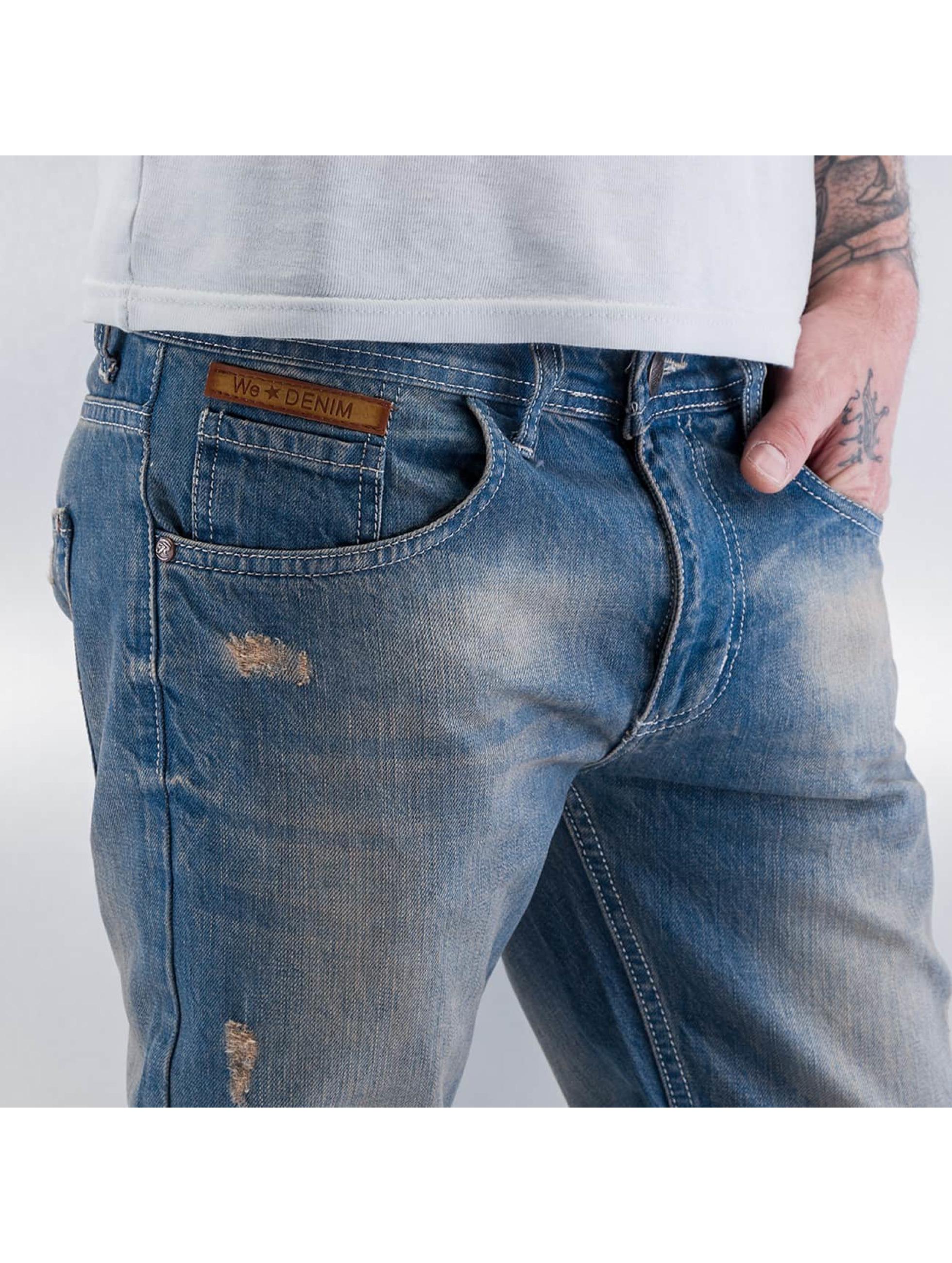 Just Rhyse Облегающие джинсы WE Denim II синий