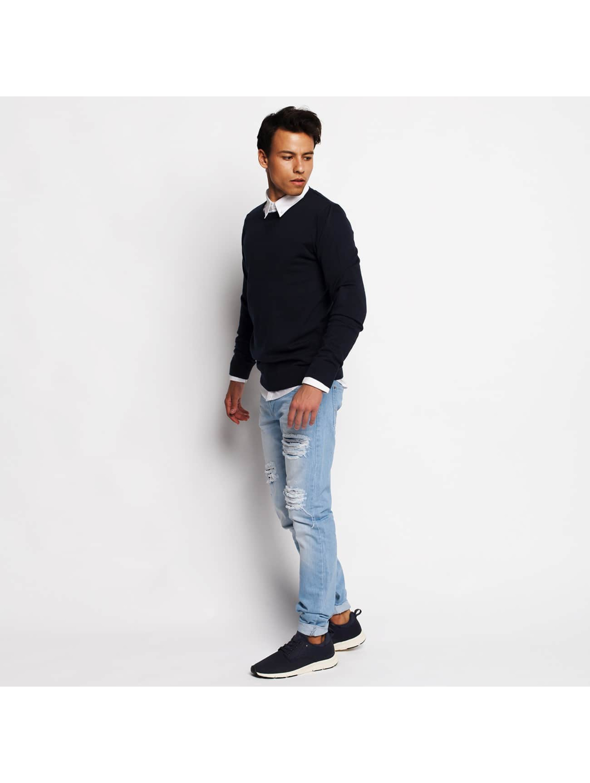 Just Rhyse Облегающие джинсы Star синий