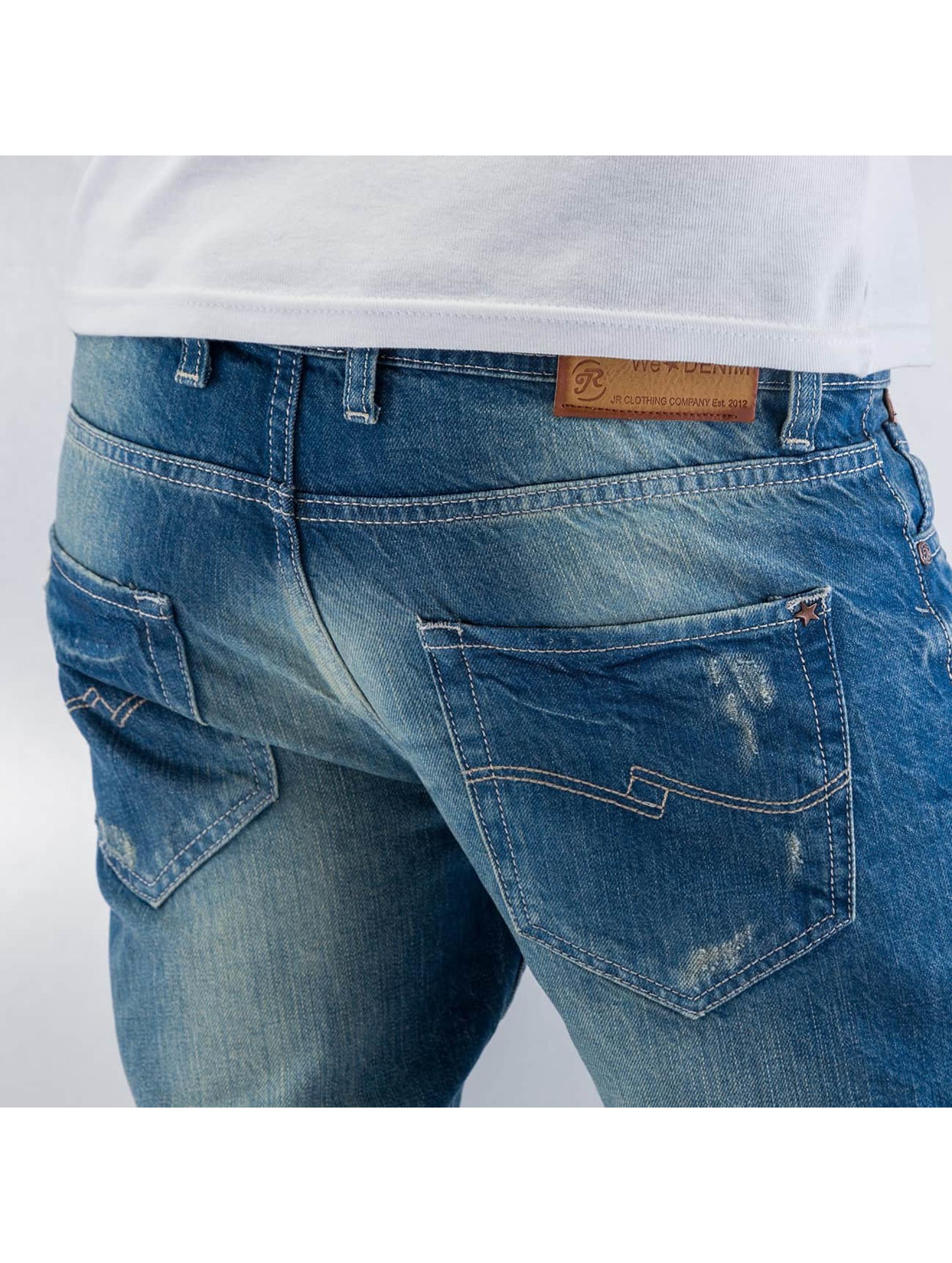 Just Rhyse Облегающие джинсы We Denim синий