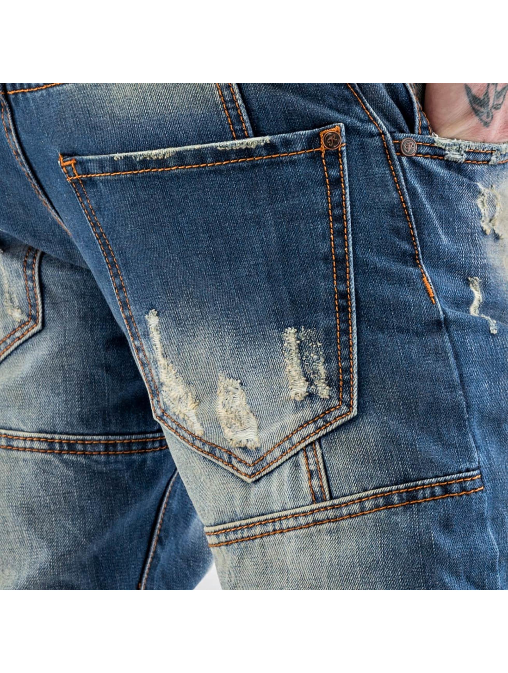 Just Rhyse Облегающие джинсы Shion синий