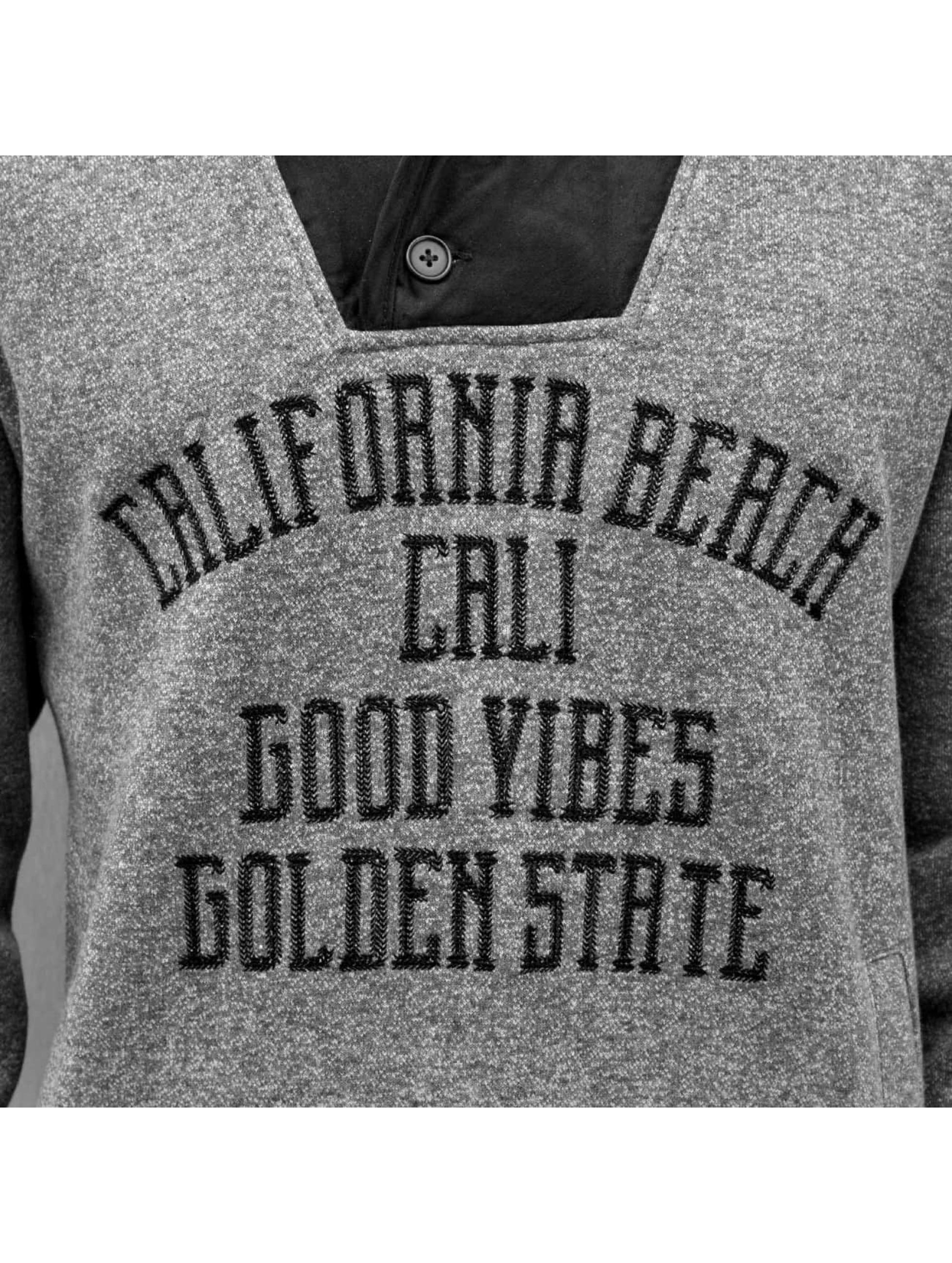Just Rhyse Пуловер California Beach серый