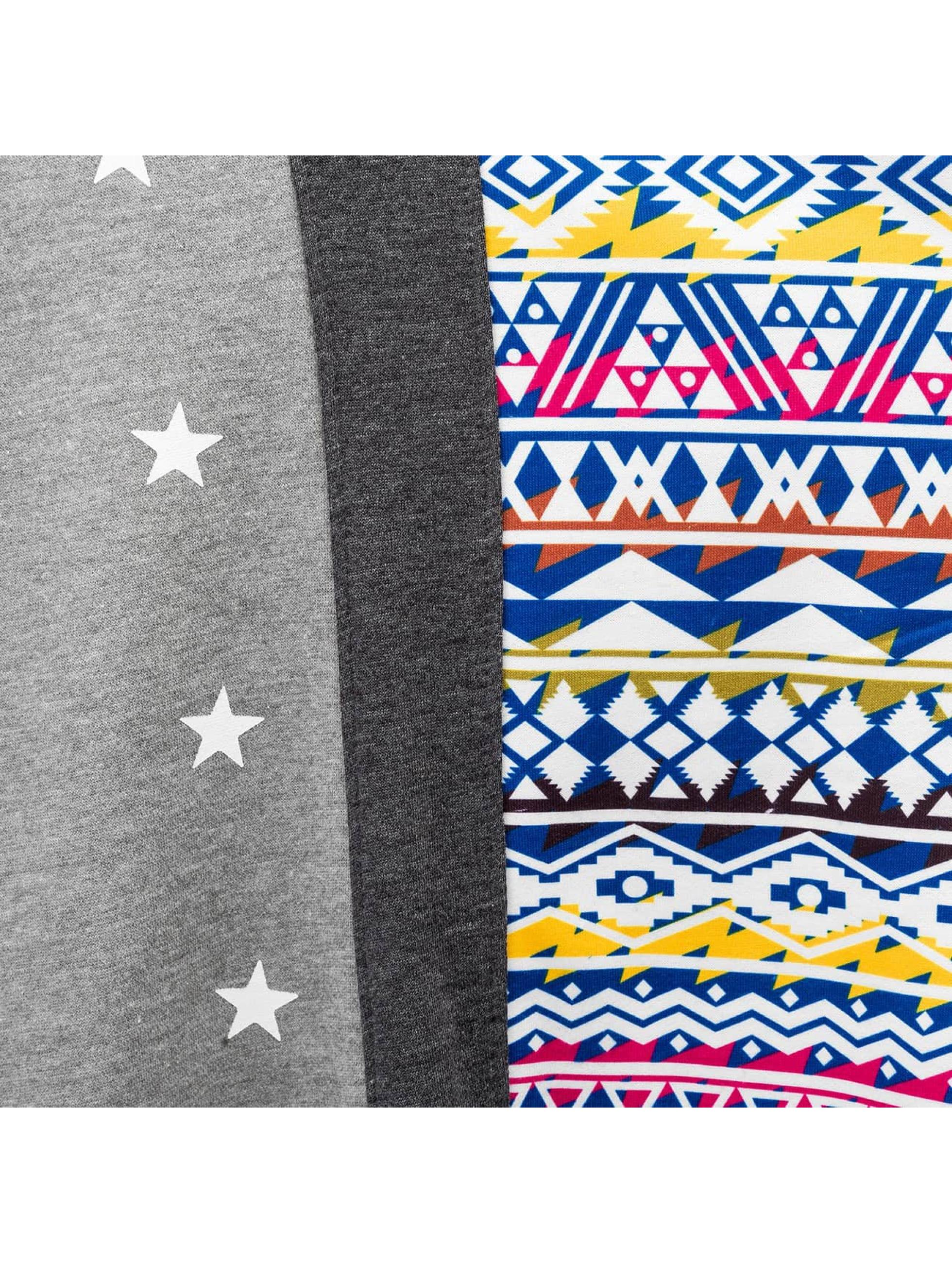 Just Rhyse Пуловер Aztecs серый
