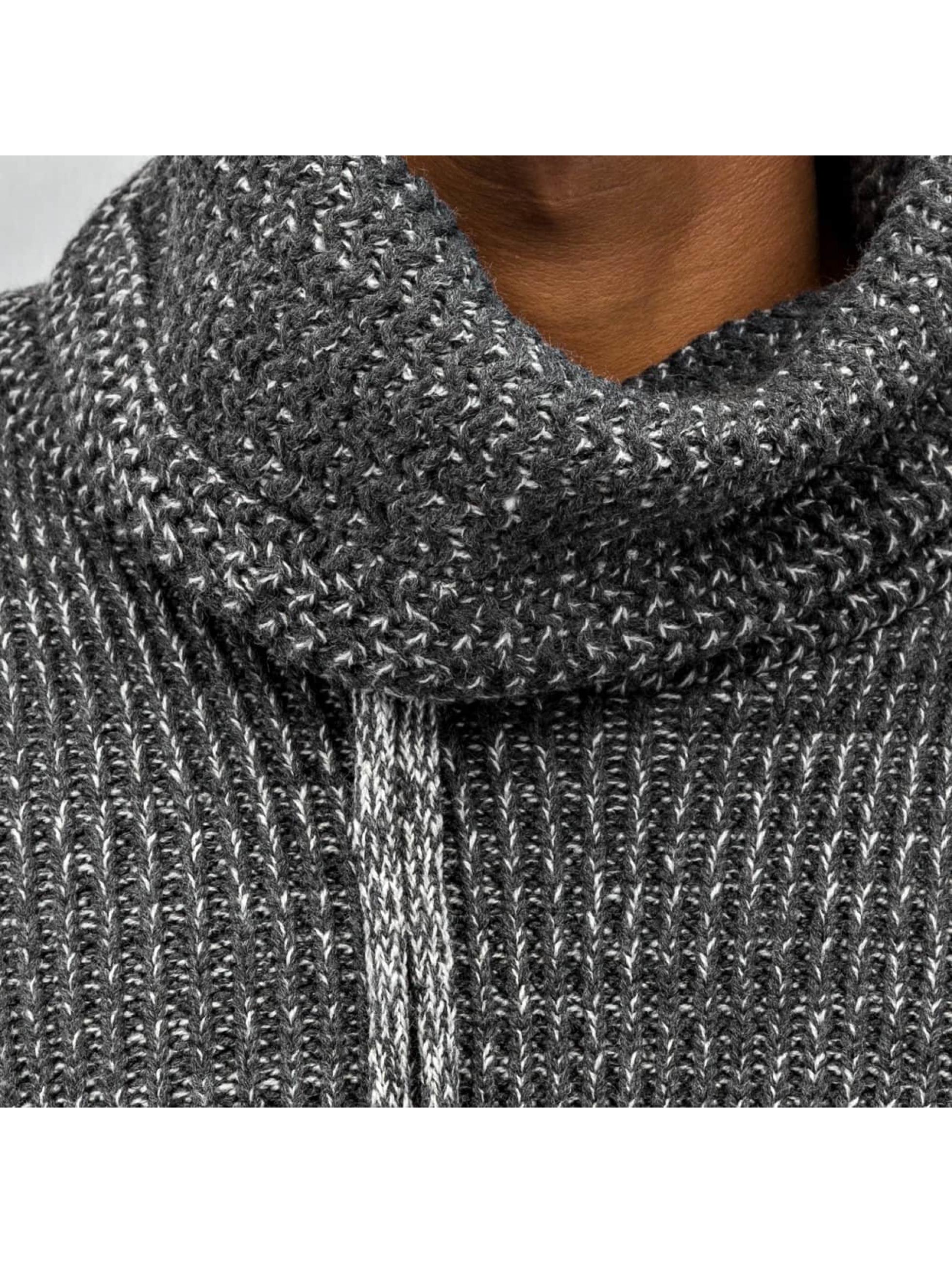 Just Rhyse Пуловер Knit серый