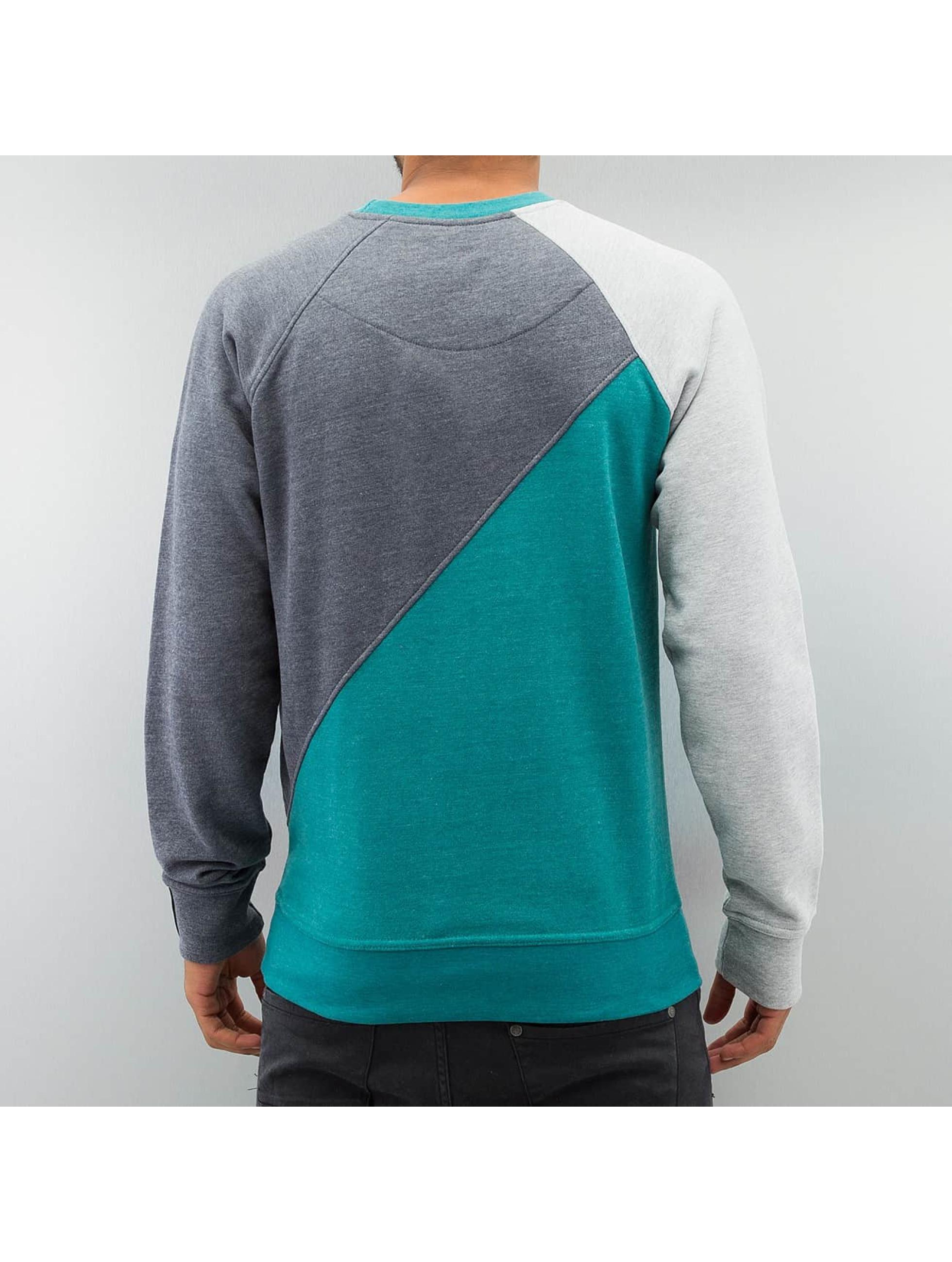 Just Rhyse Пуловер 3 Tone серый