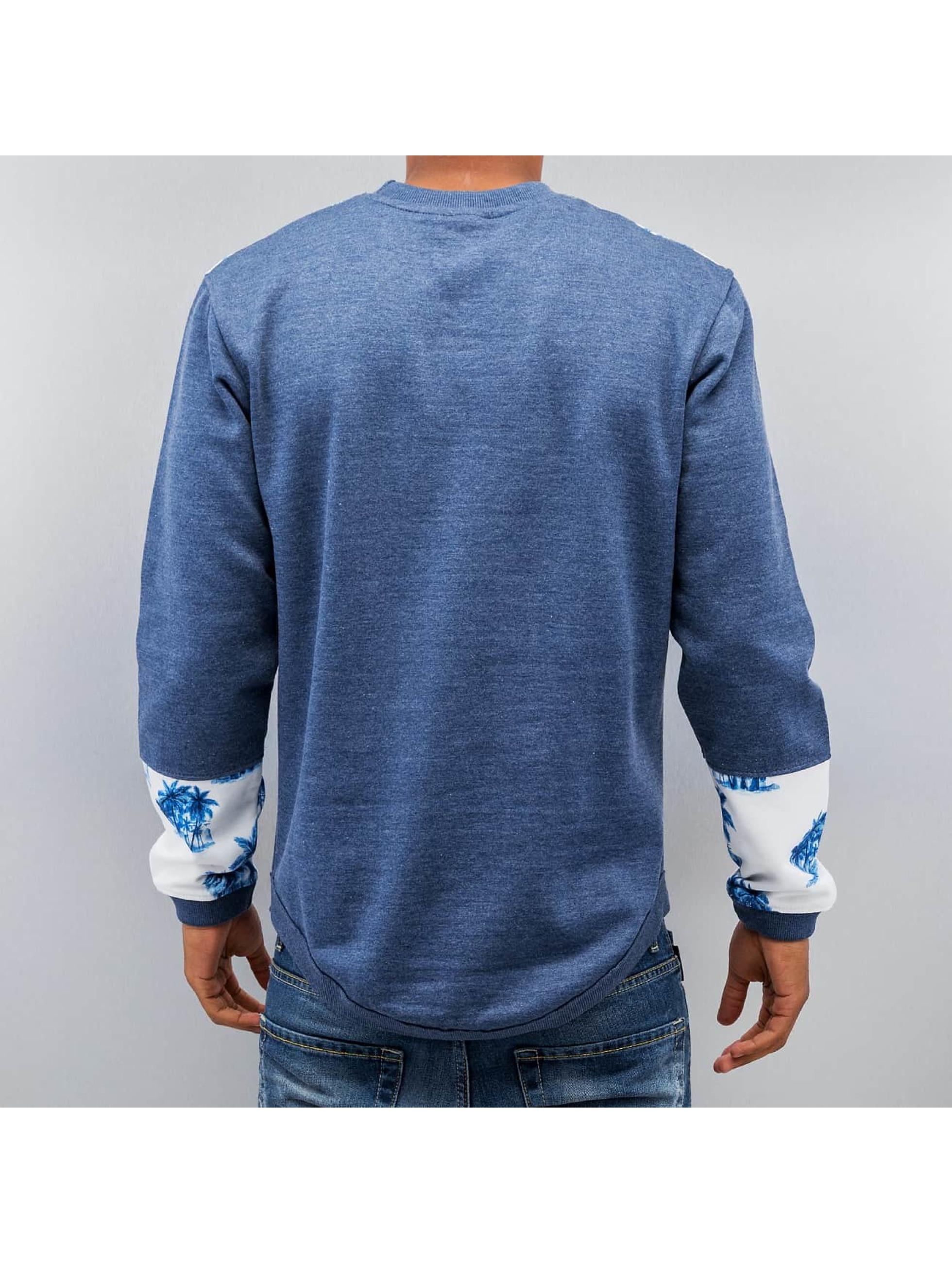 Just Rhyse Пуловер Palms синий