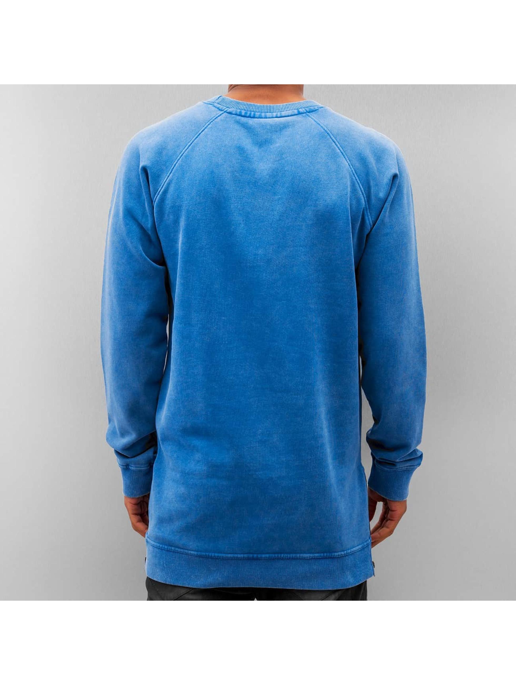 Just Rhyse Пуловер Zip синий