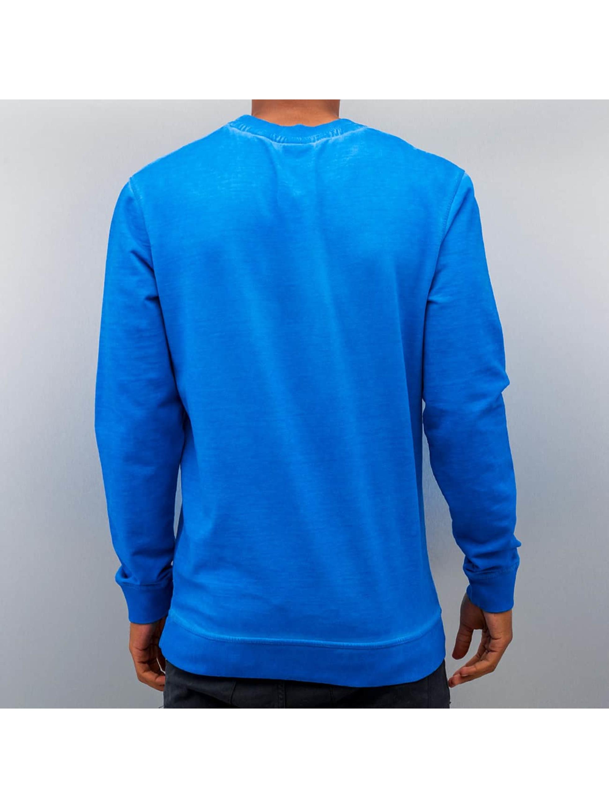 Just Rhyse Пуловер Dye синий