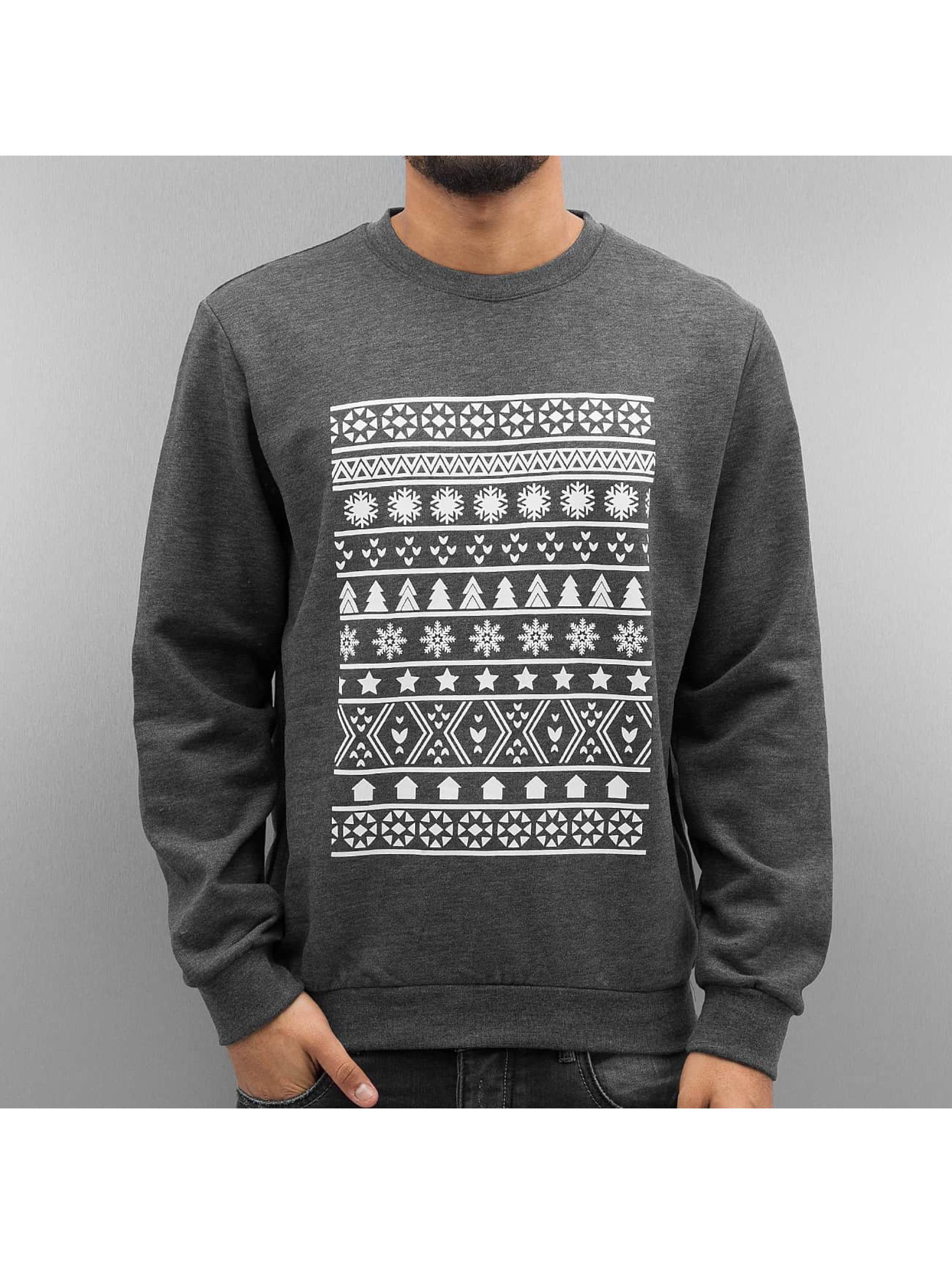 Just Rhyse Пуловер Symbols черный