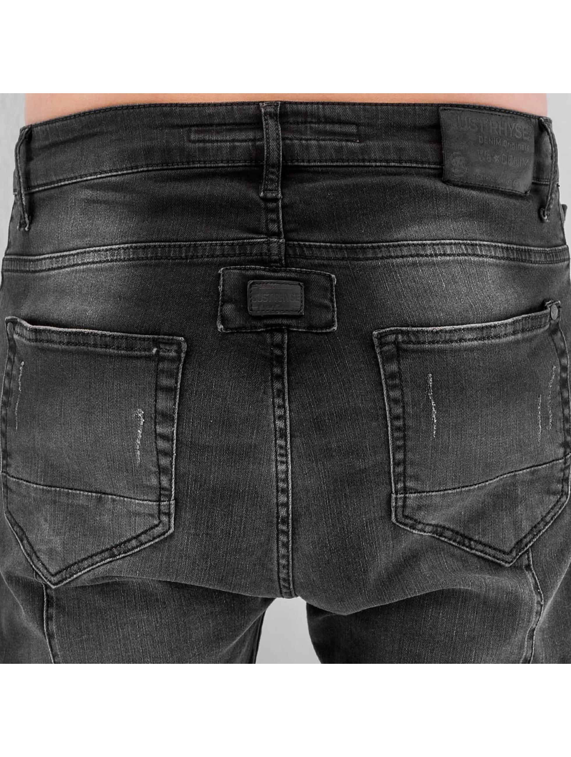 Just Rhyse Antifit jeans Yashar svart