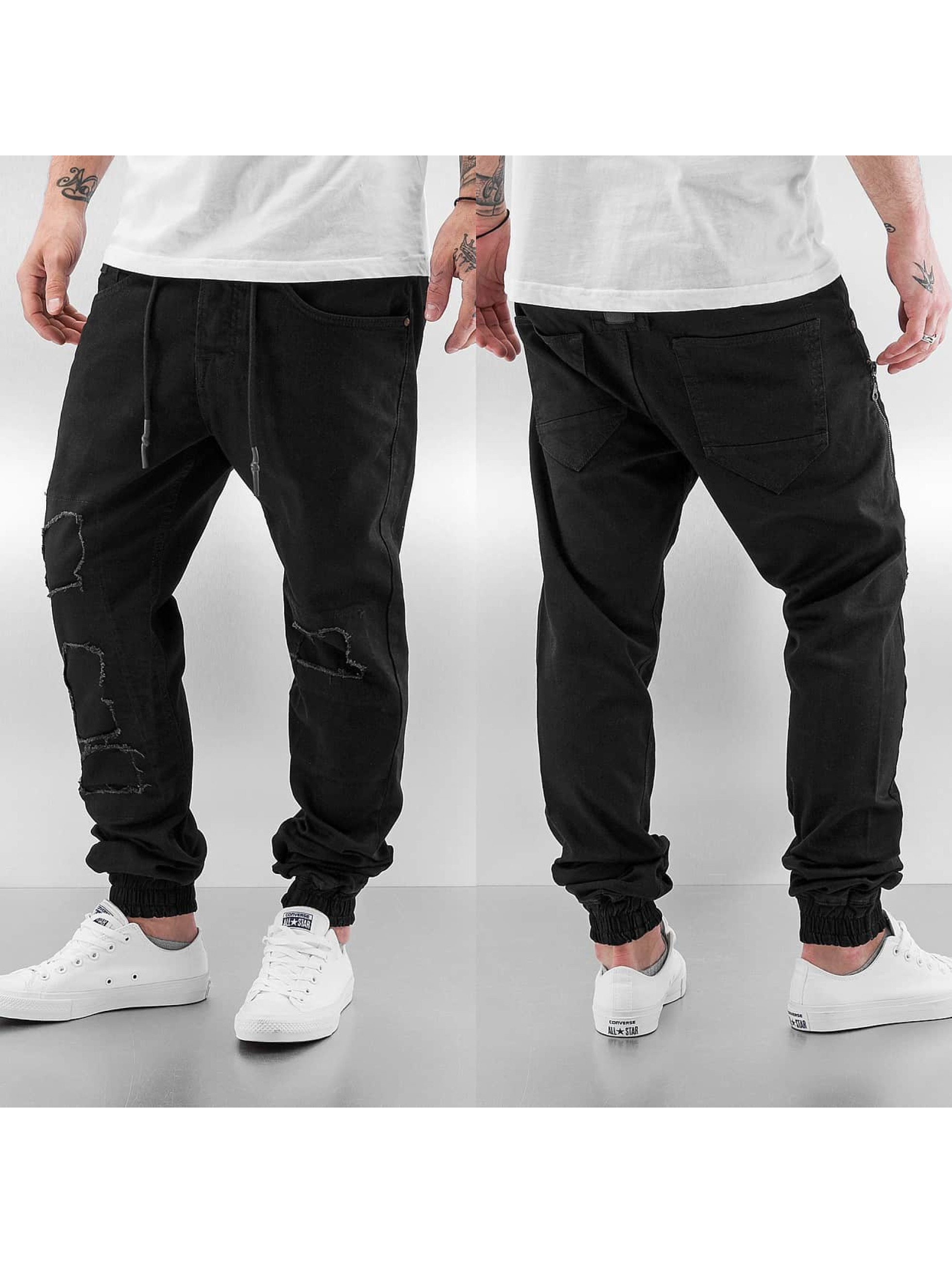Just Rhyse Antifit jeans Cyrian svart