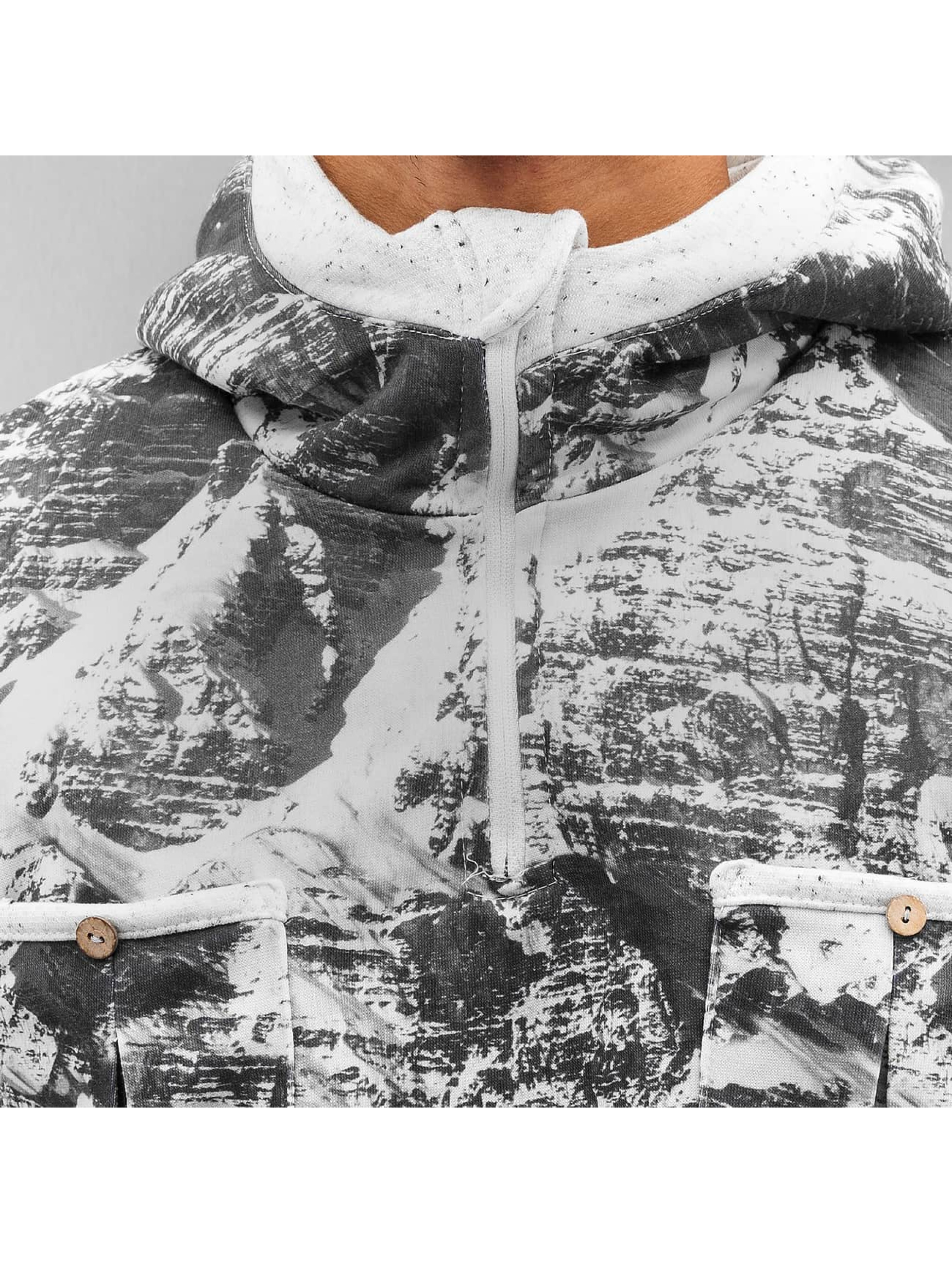 Just Rhyse Bluzy z kapturem Mountains czarny