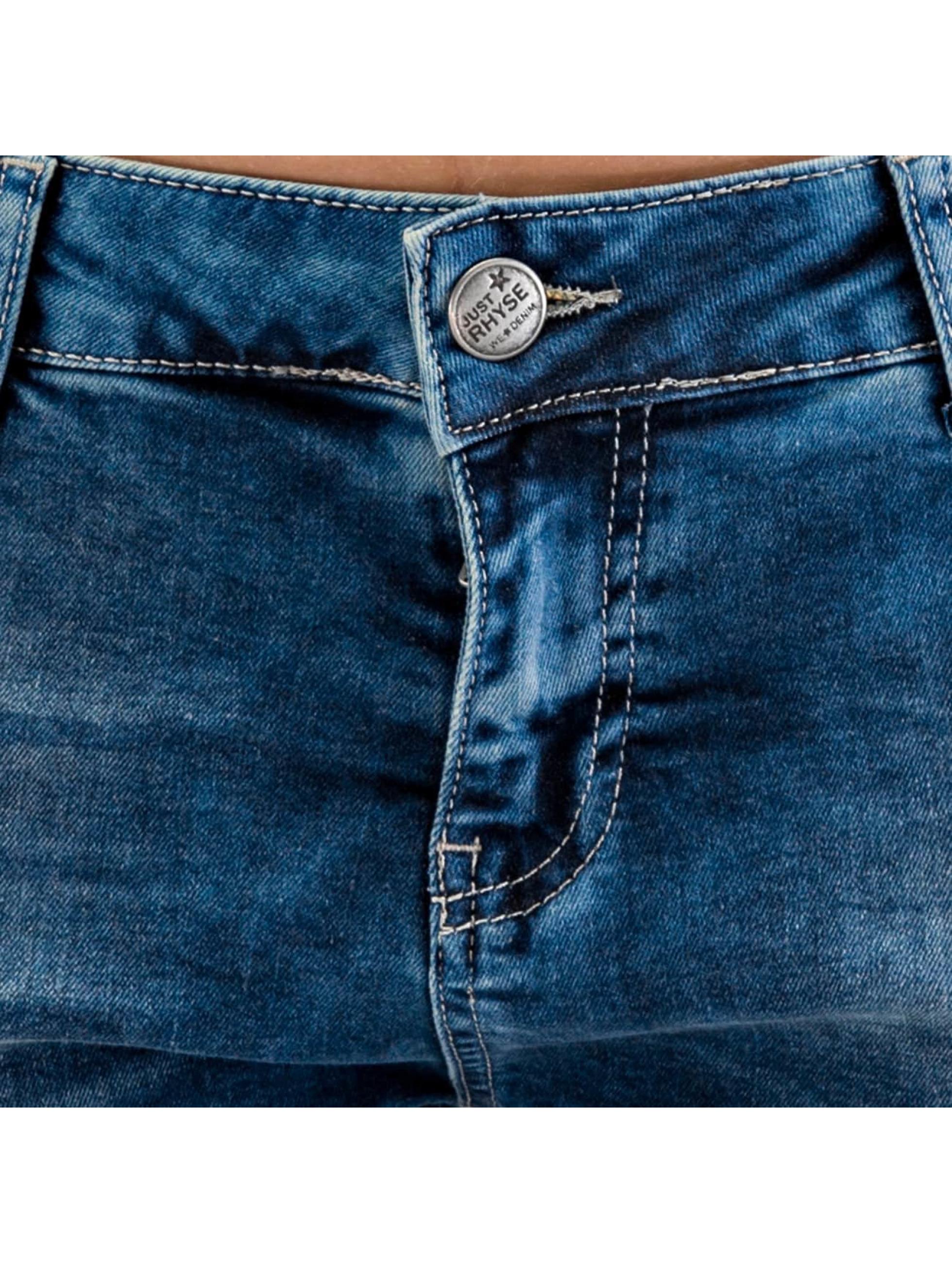 Just Rhyse Boyfriend jeans Koza blauw