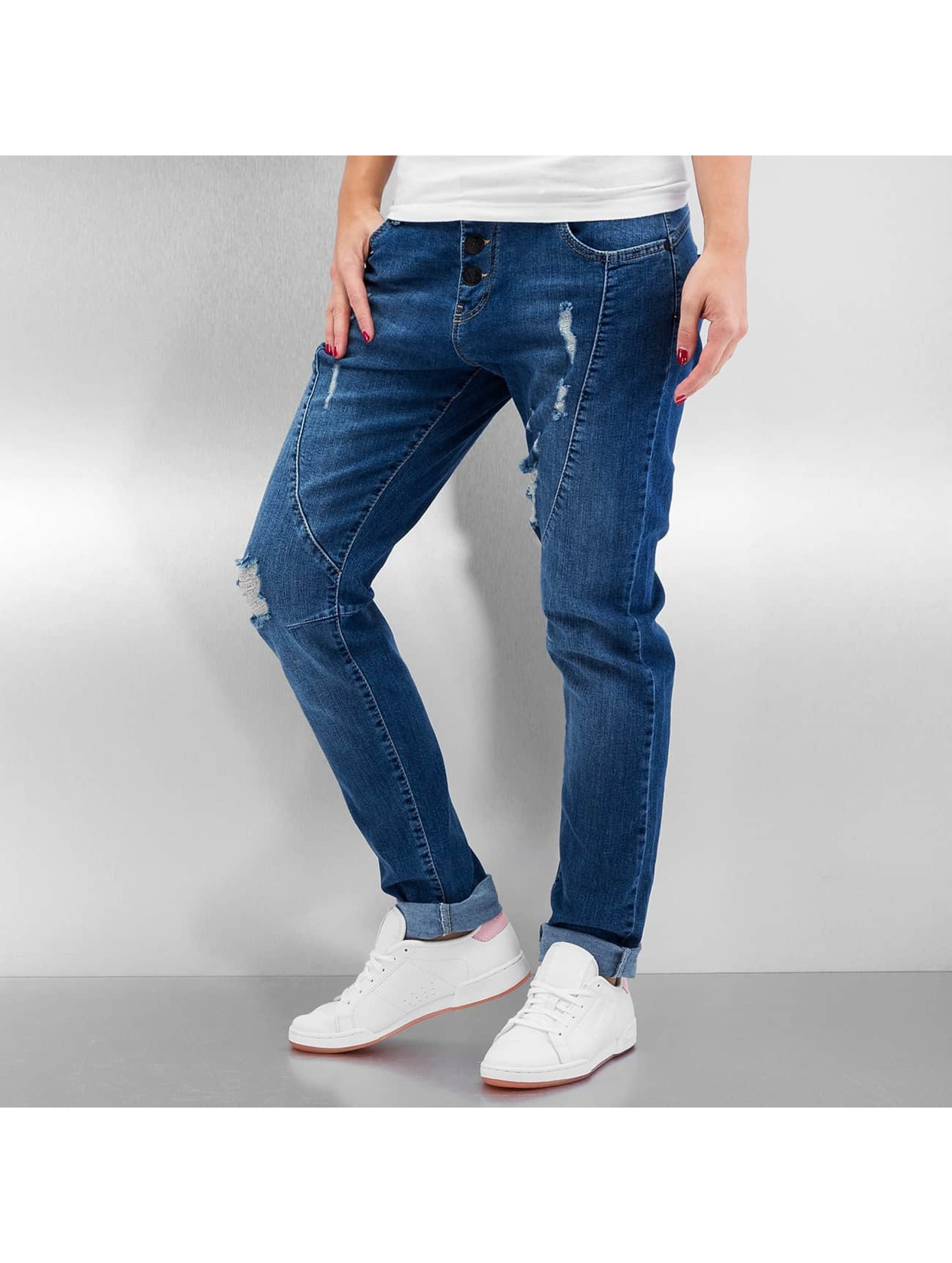 Just Rhyse Boyfriend Jeans Used blue