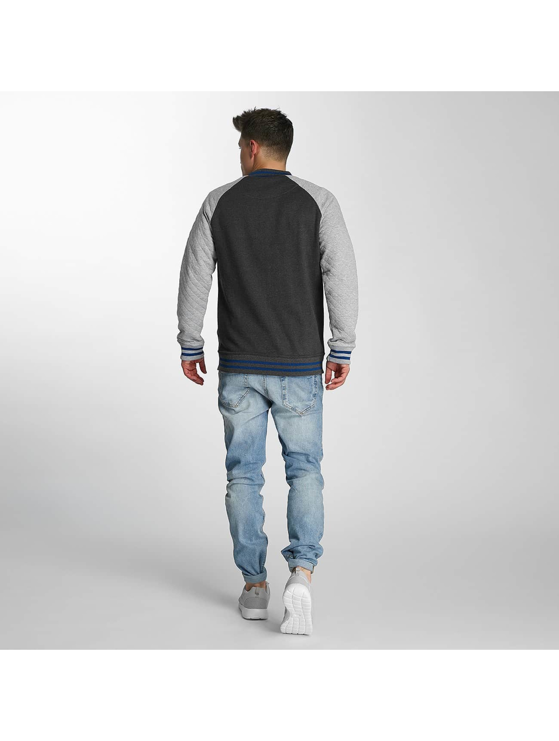 Just Rhyse College Jacket Clearlake grey