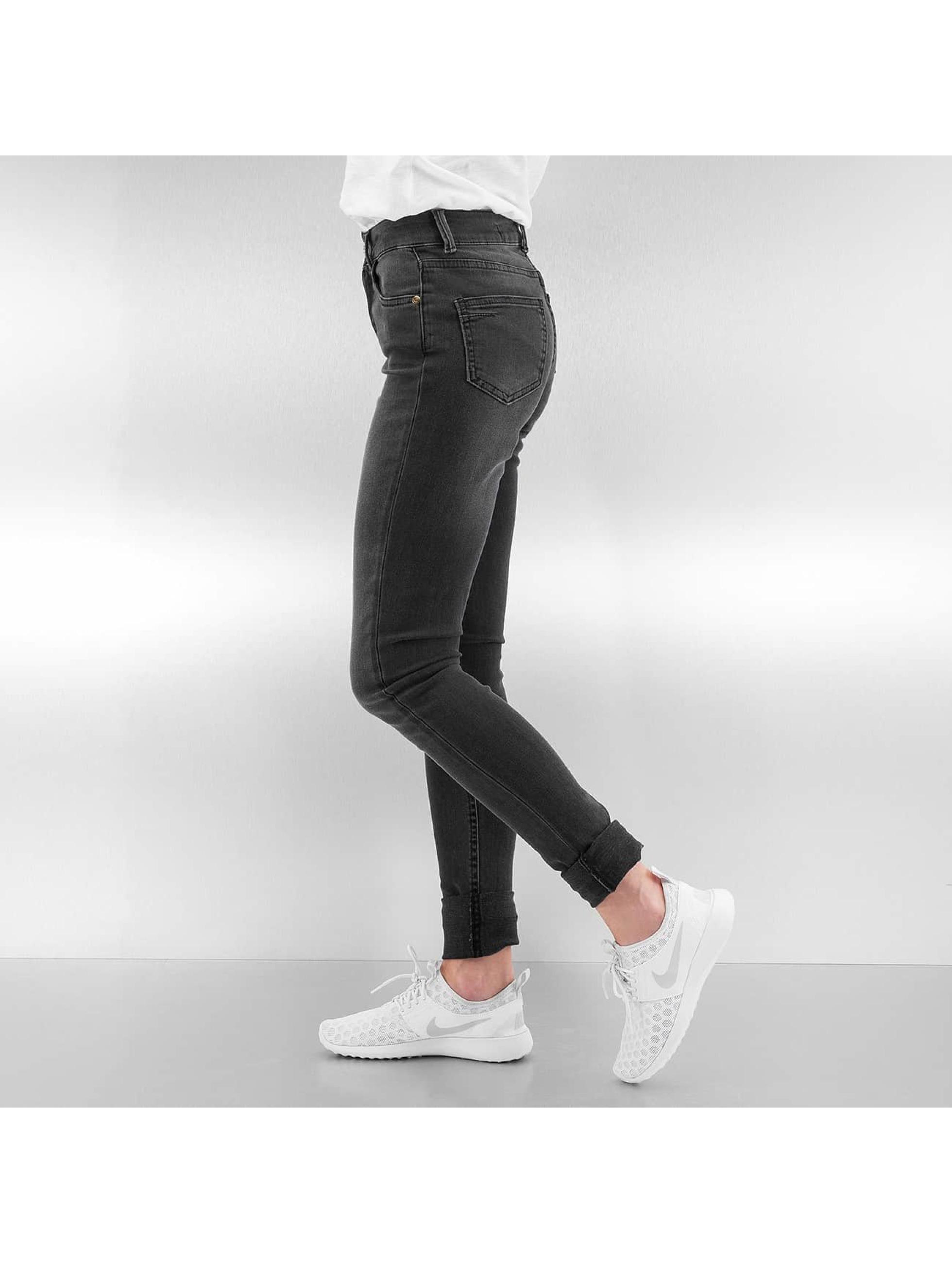 Just Rhyse High Waisted Jeans High Waist серый