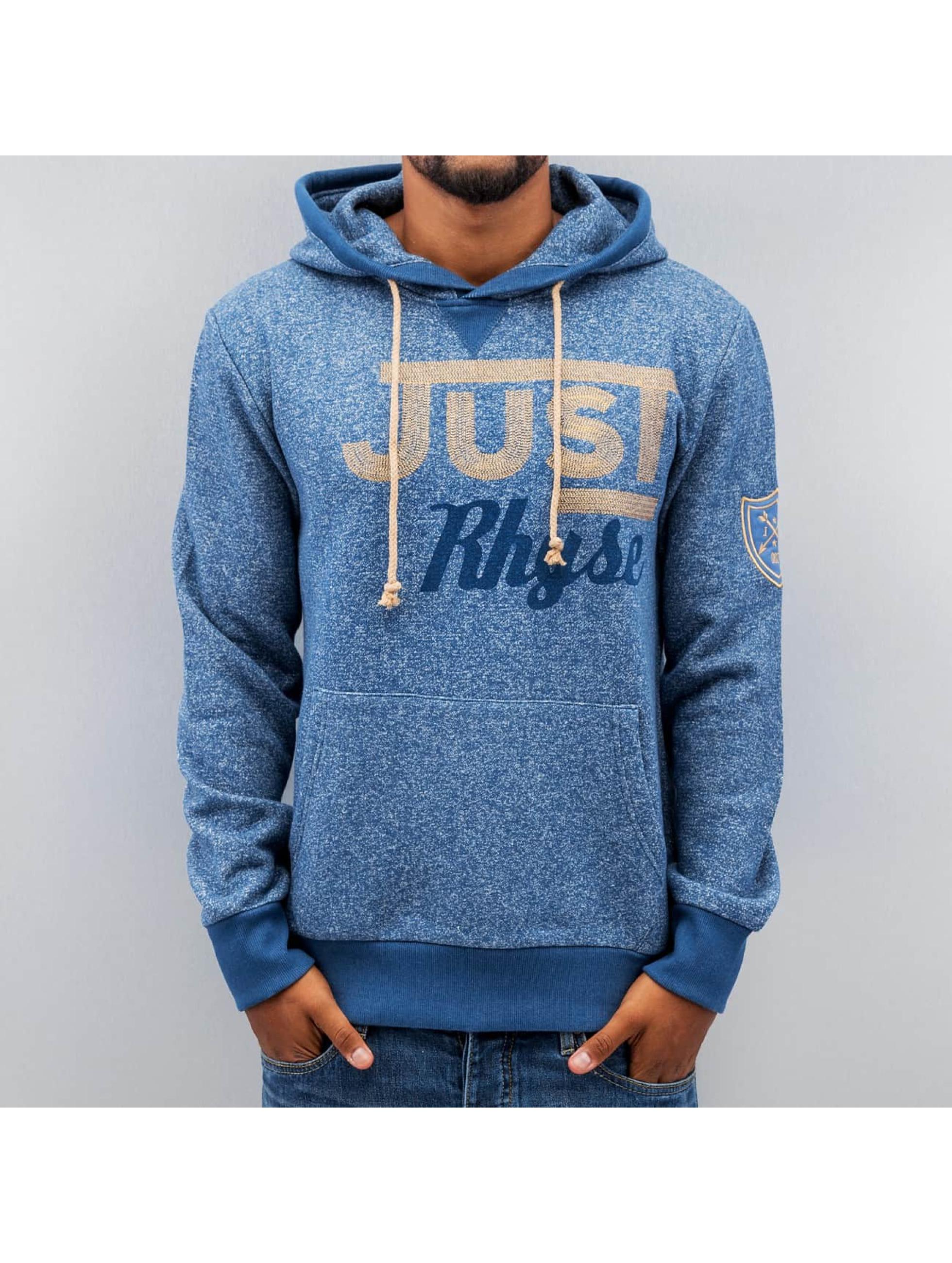 Just Rhyse Hoody Logo blau