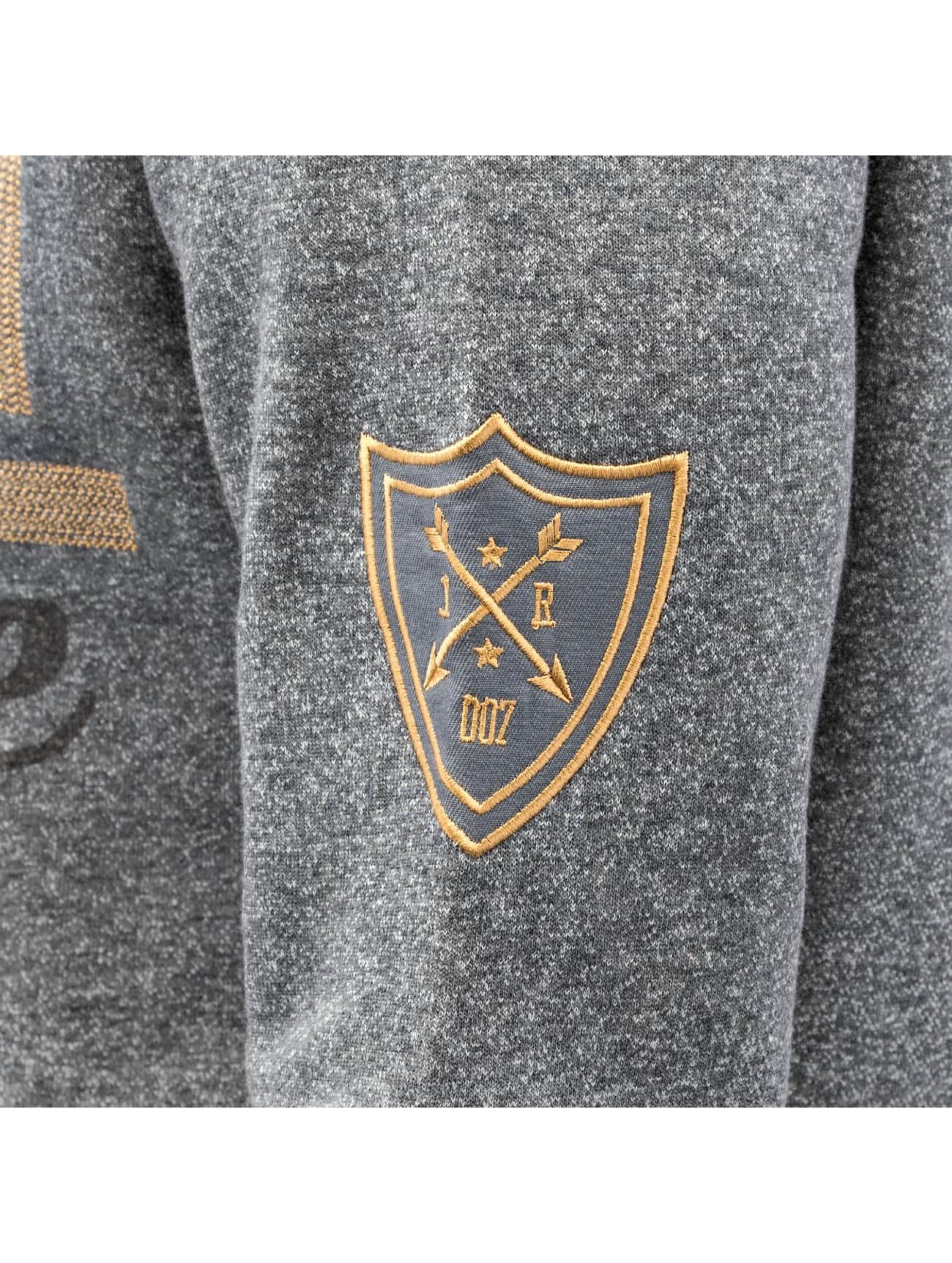 Just Rhyse Hoody Logo grijs