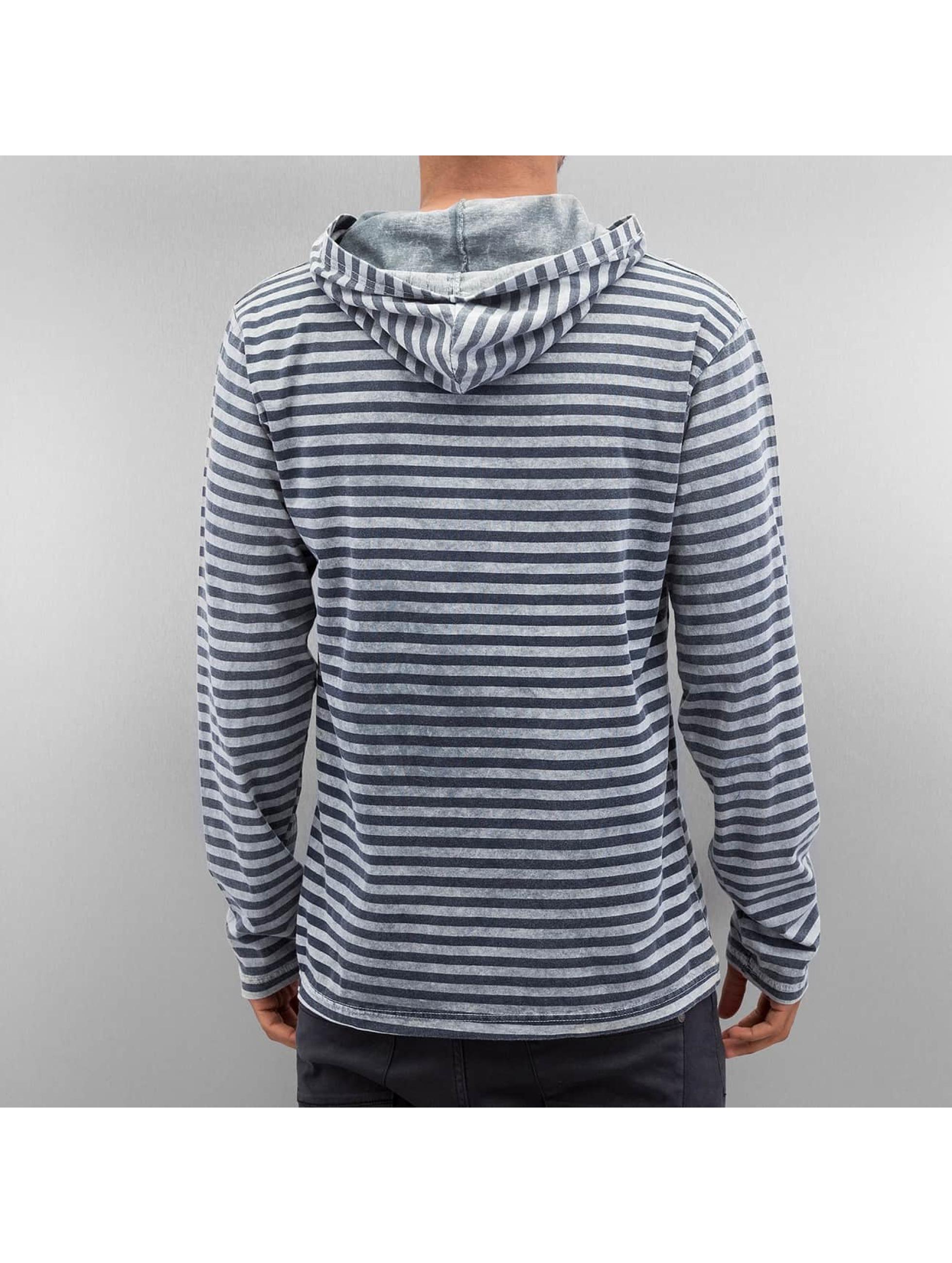 Just Rhyse Hoody Stripes grijs