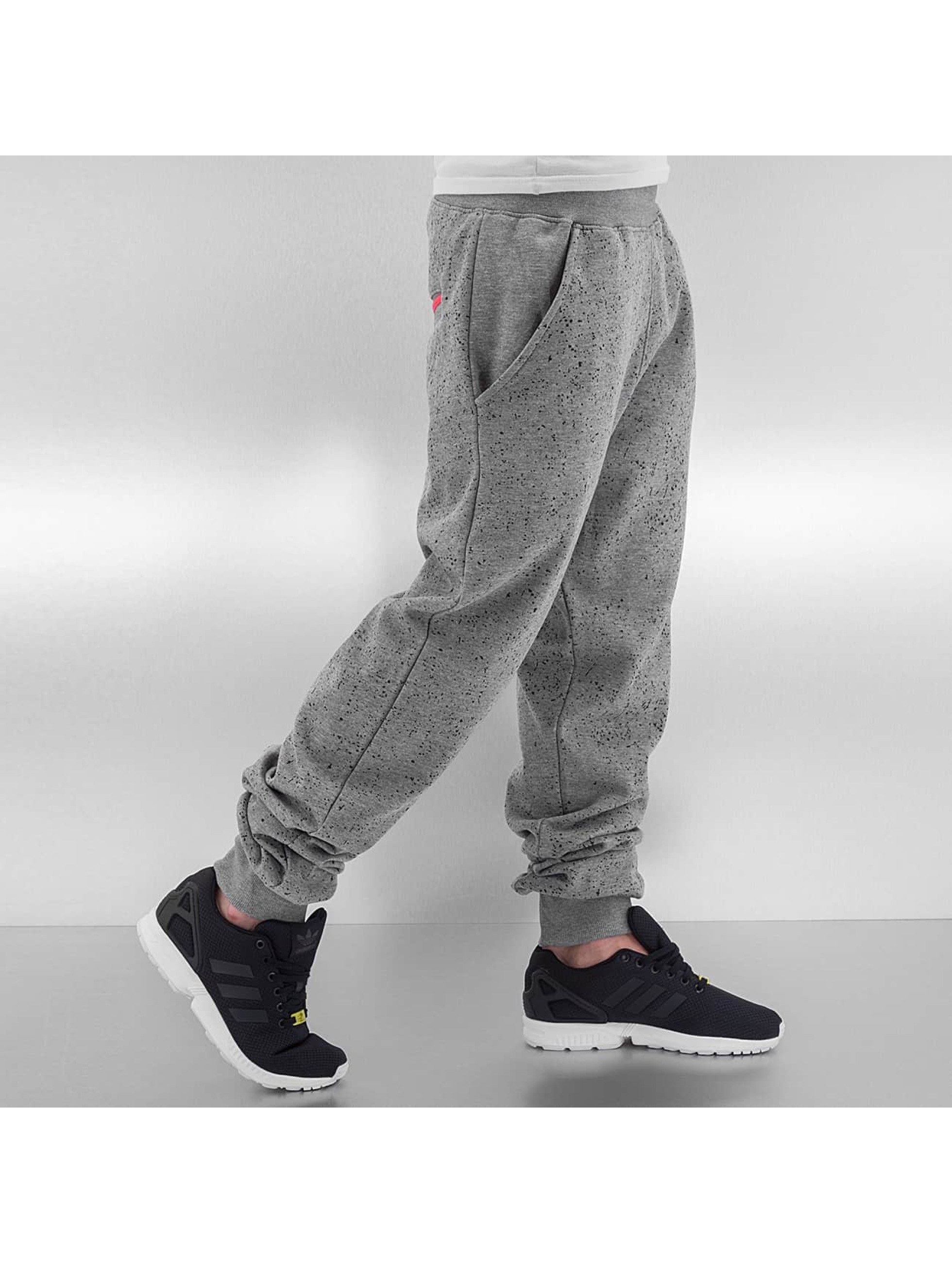 Just Rhyse joggingbroek Speckle grijs