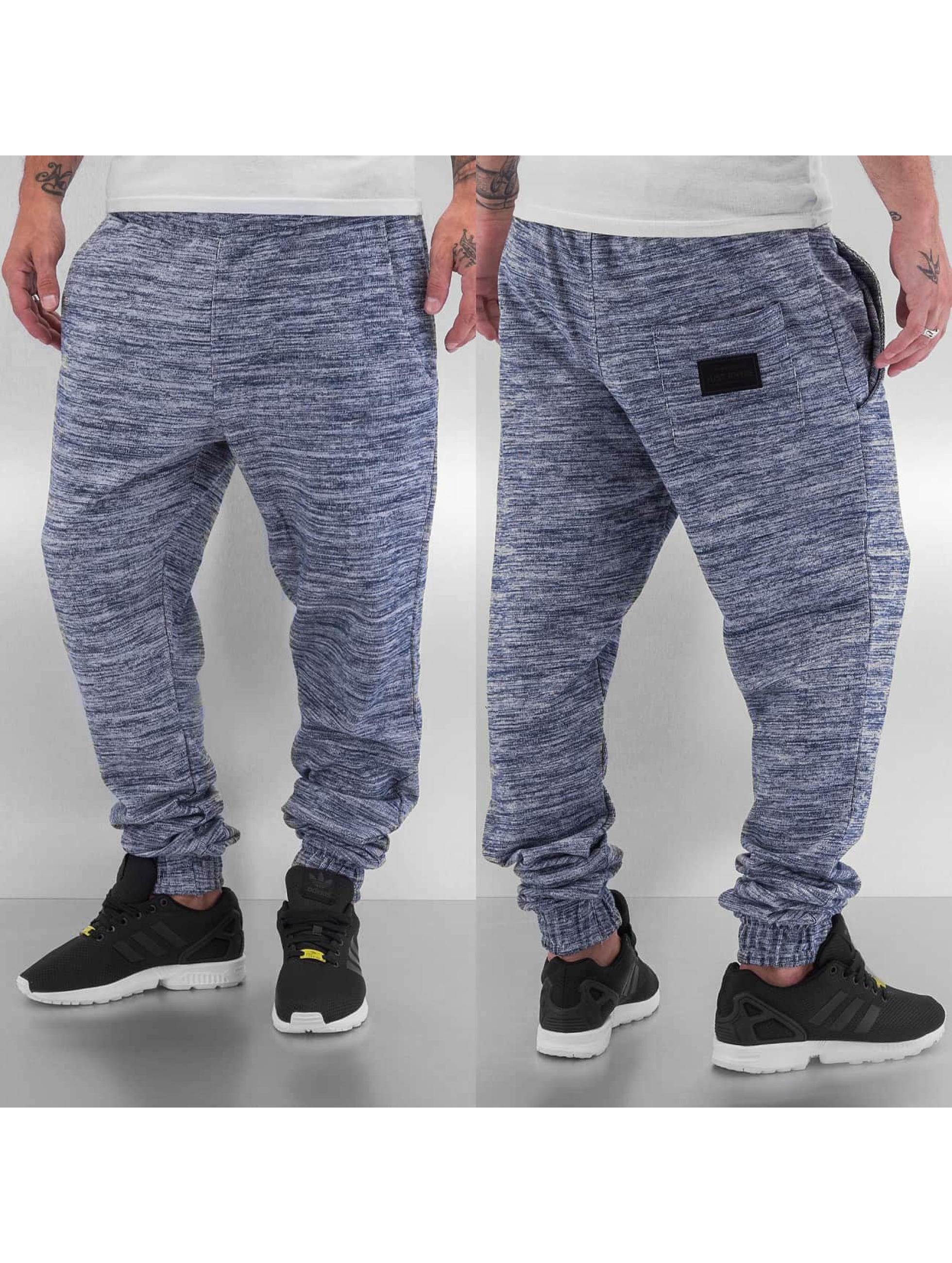 Just Rhyse joggingbroek Stripe grijs