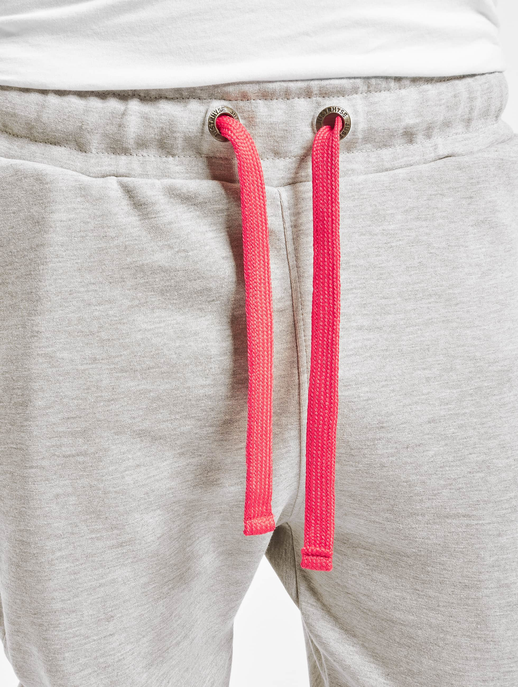 Just Rhyse joggingbroek Big Pocket grijs