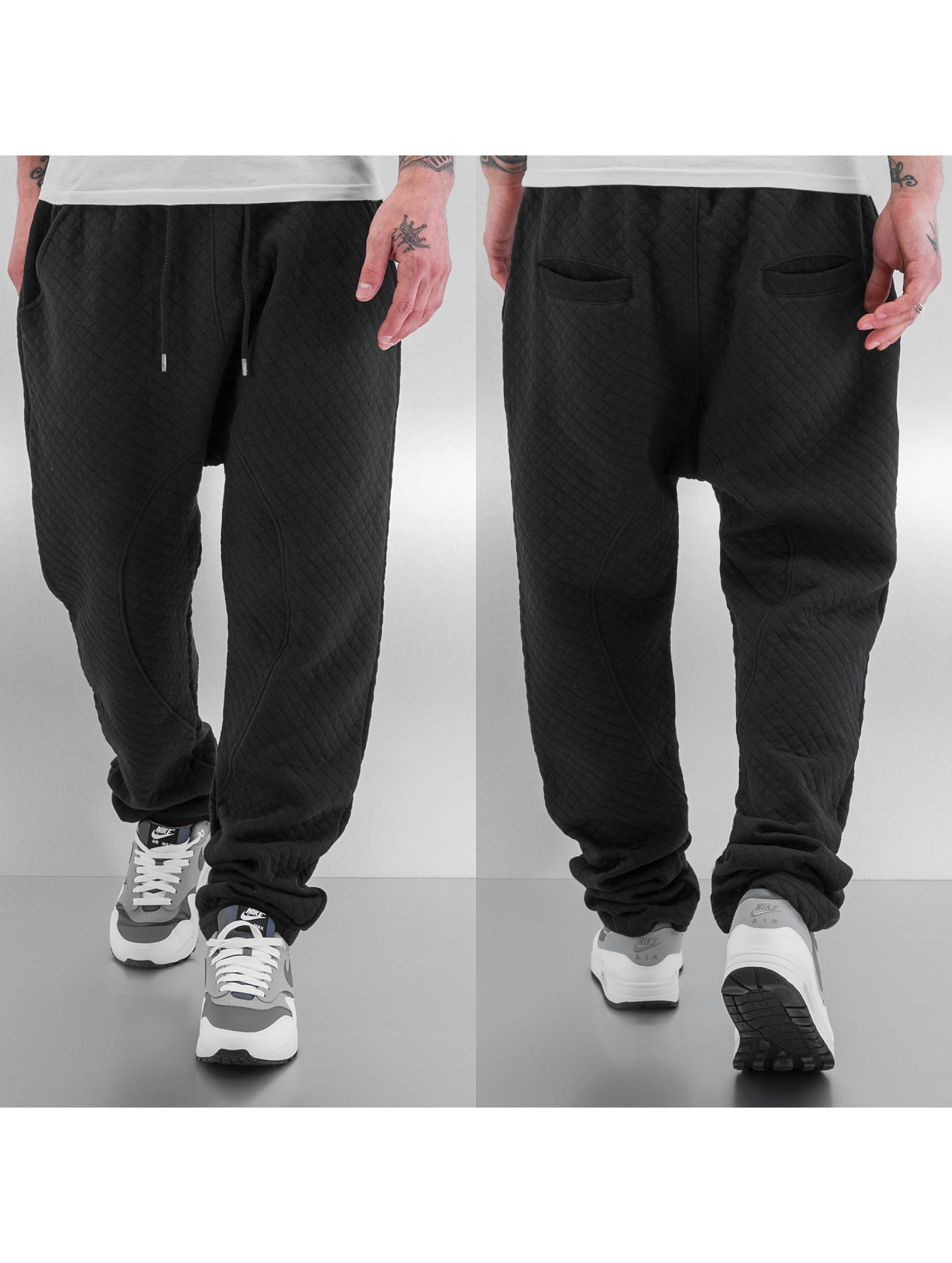 Just Rhyse joggingbroek Coolness zwart