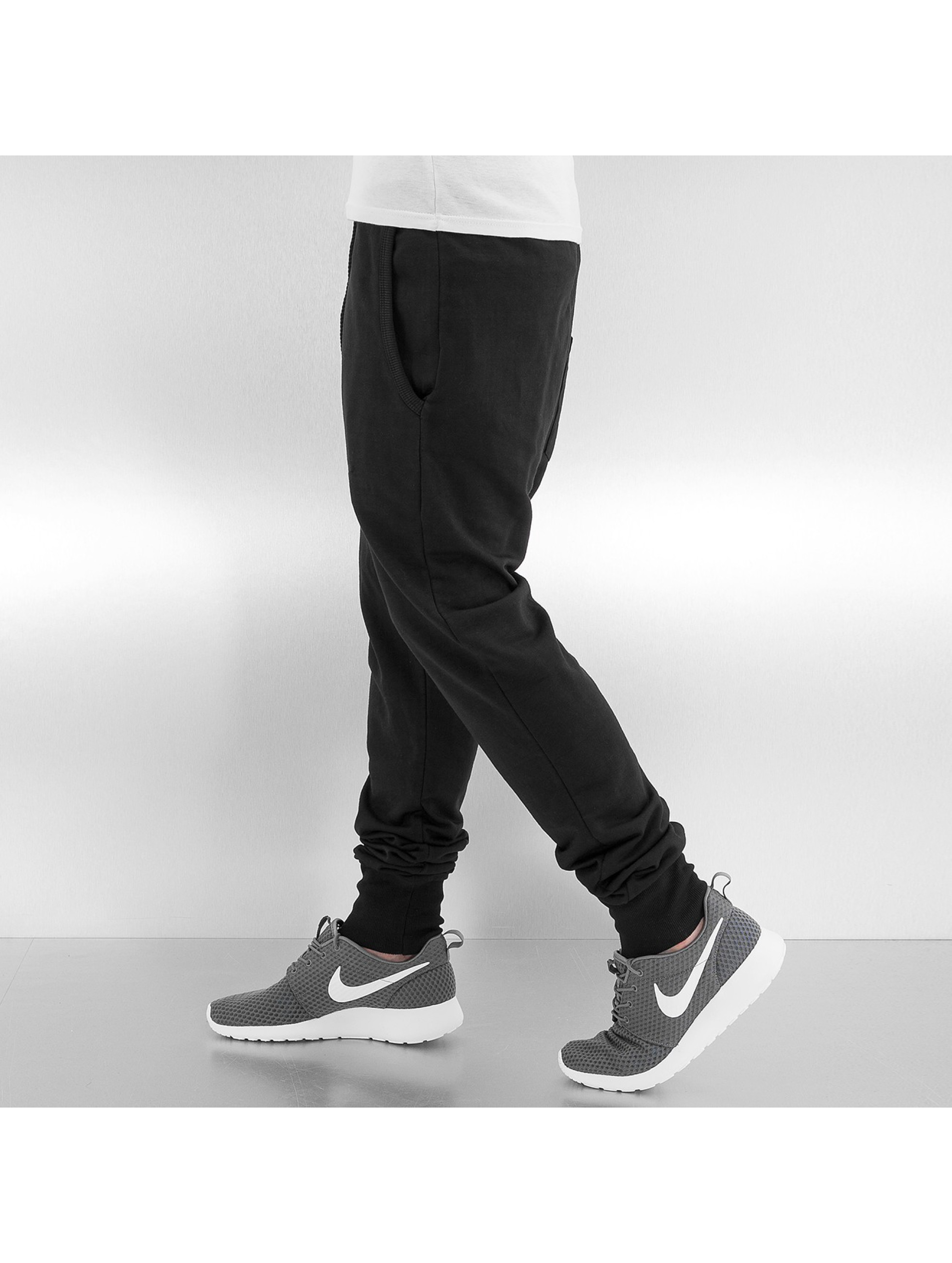 Just Rhyse joggingbroek Blank zwart