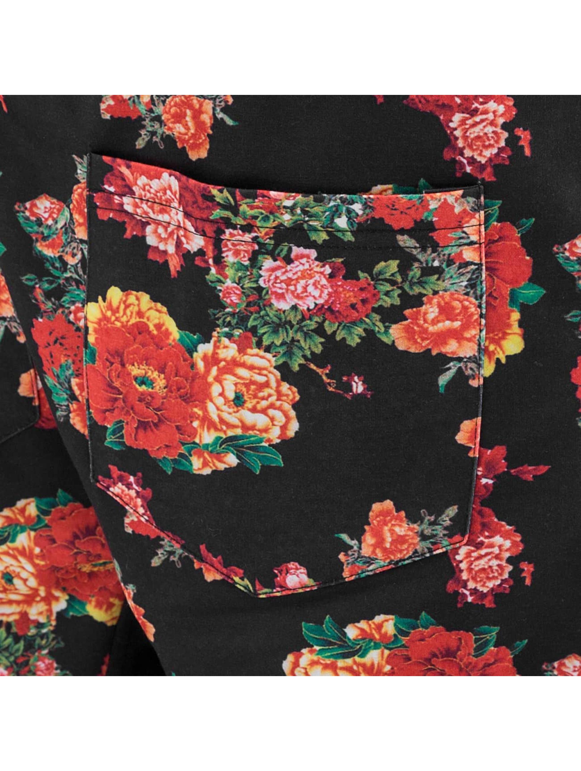 Just Rhyse joggingbroek Flower zwart